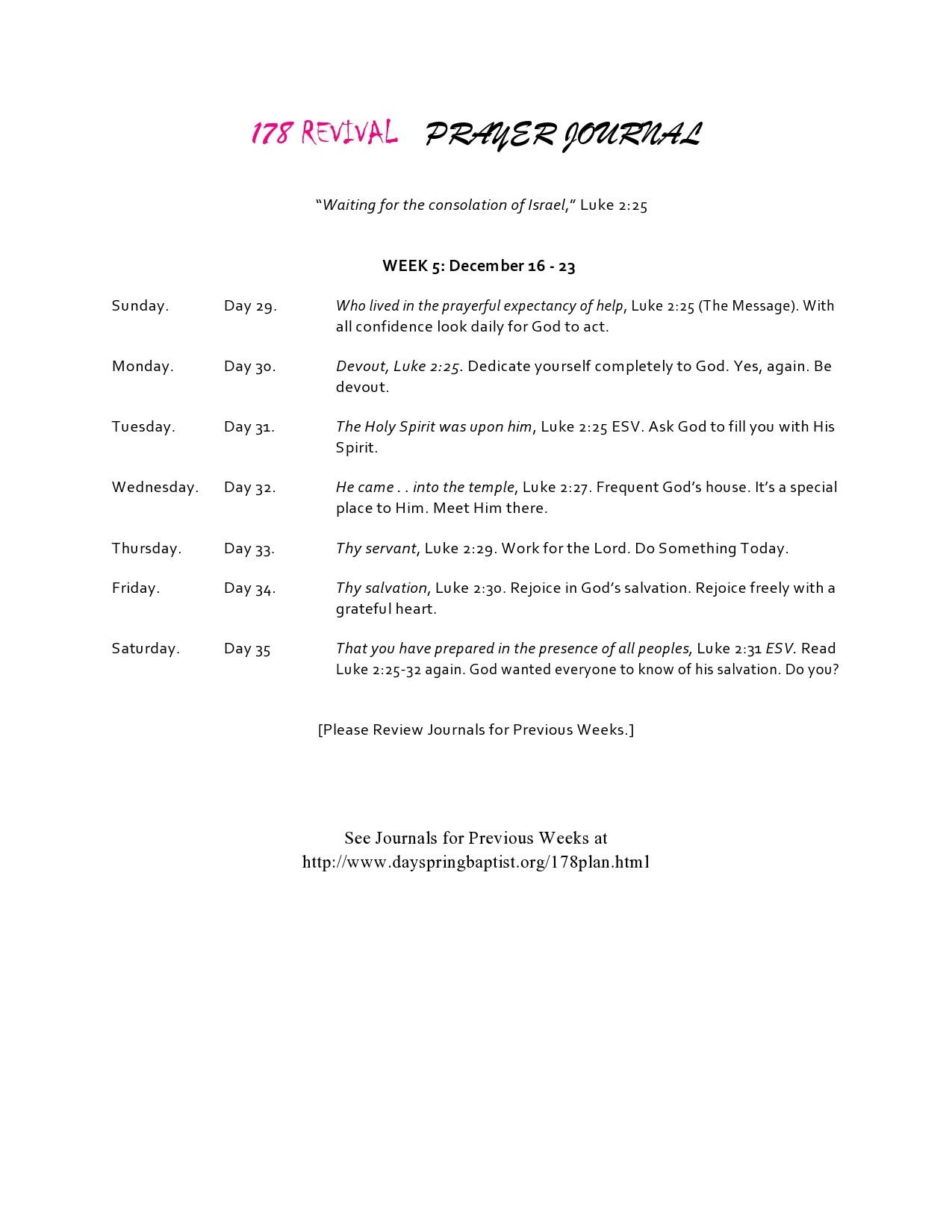 Free prayer journal template 42