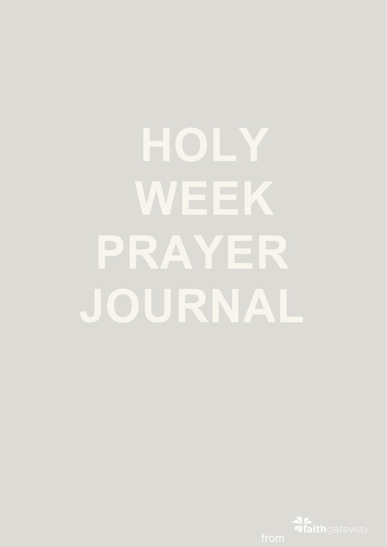 Free prayer journal template 46