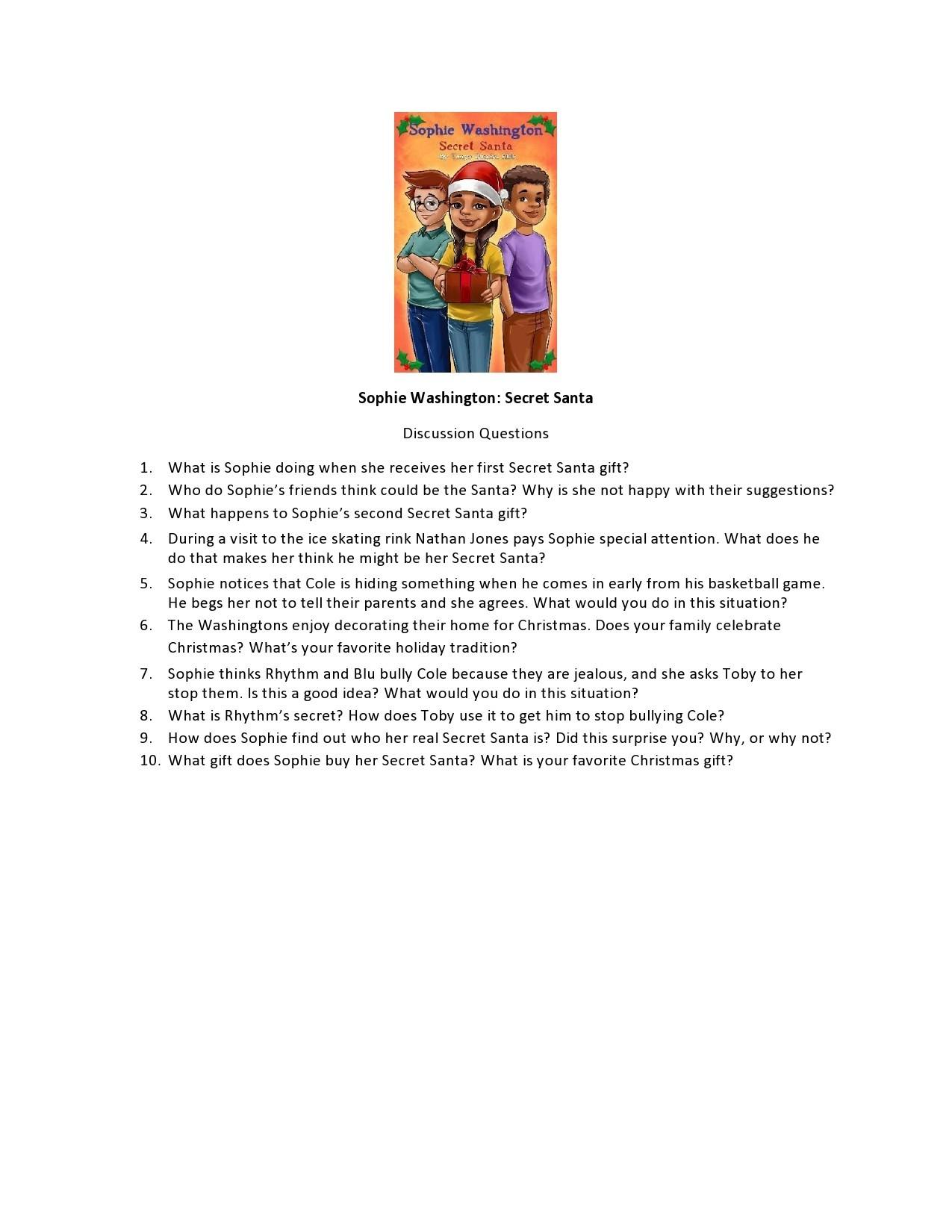 Free secret santa questionnaire 09