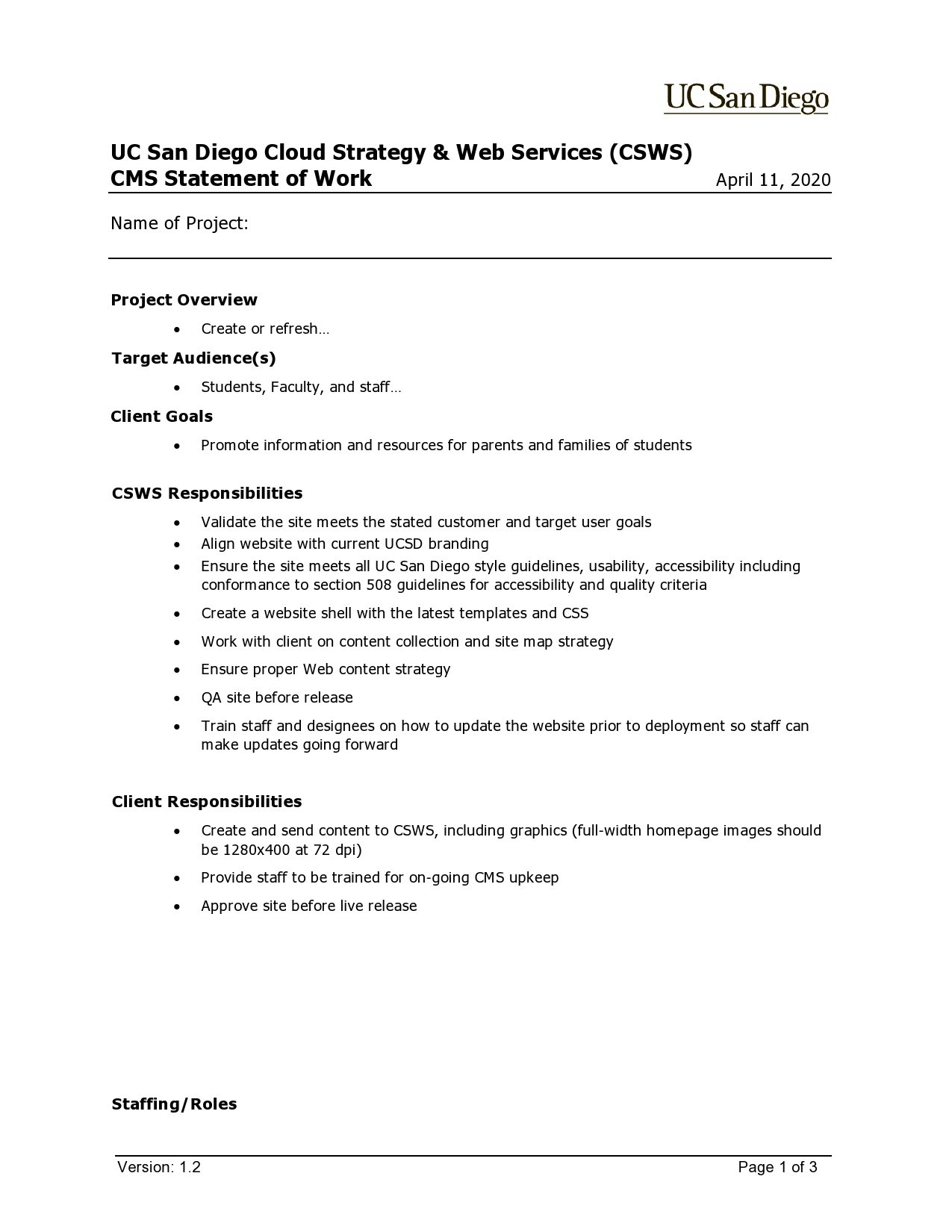 Free statement of work template 35