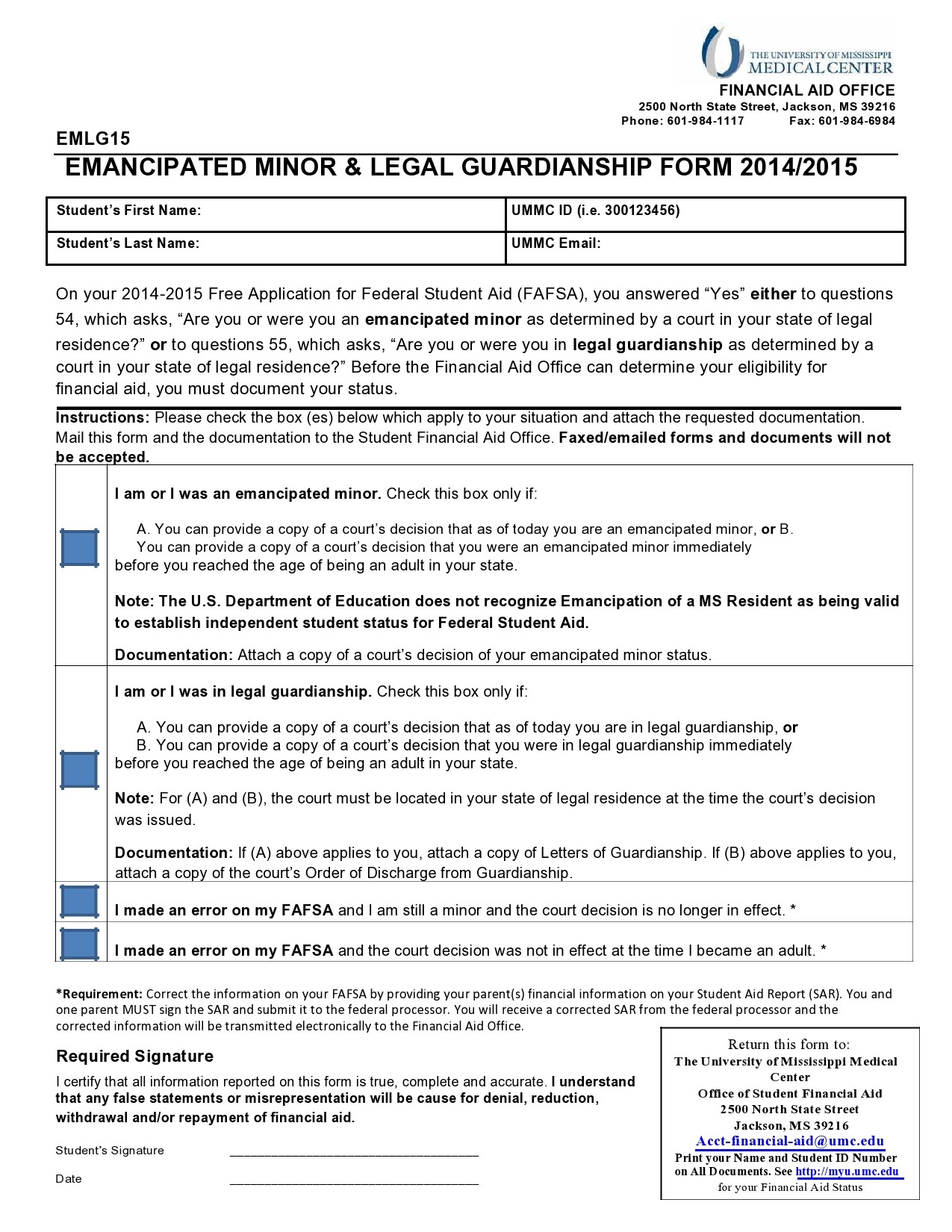 Free guardianship form 07