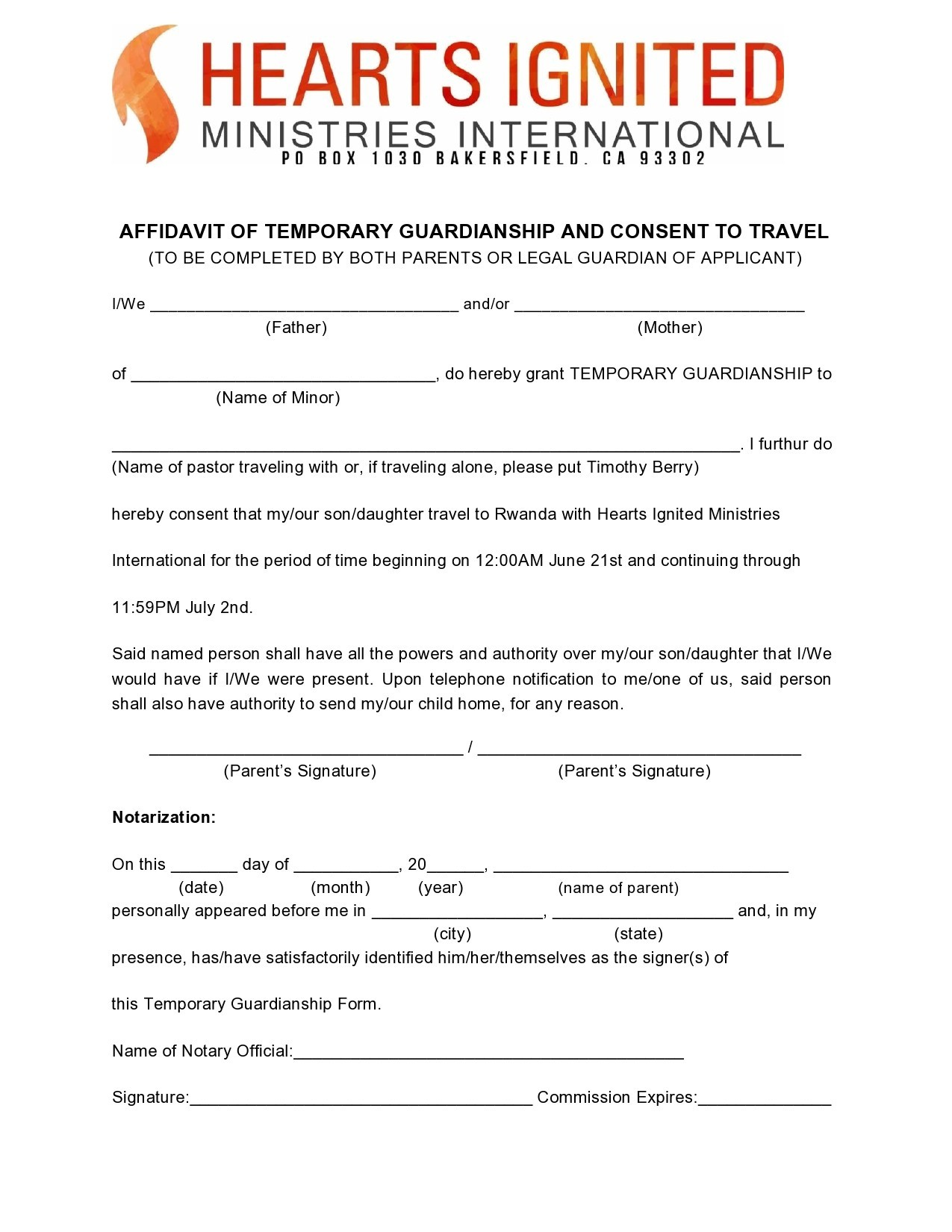 Free guardianship form 14