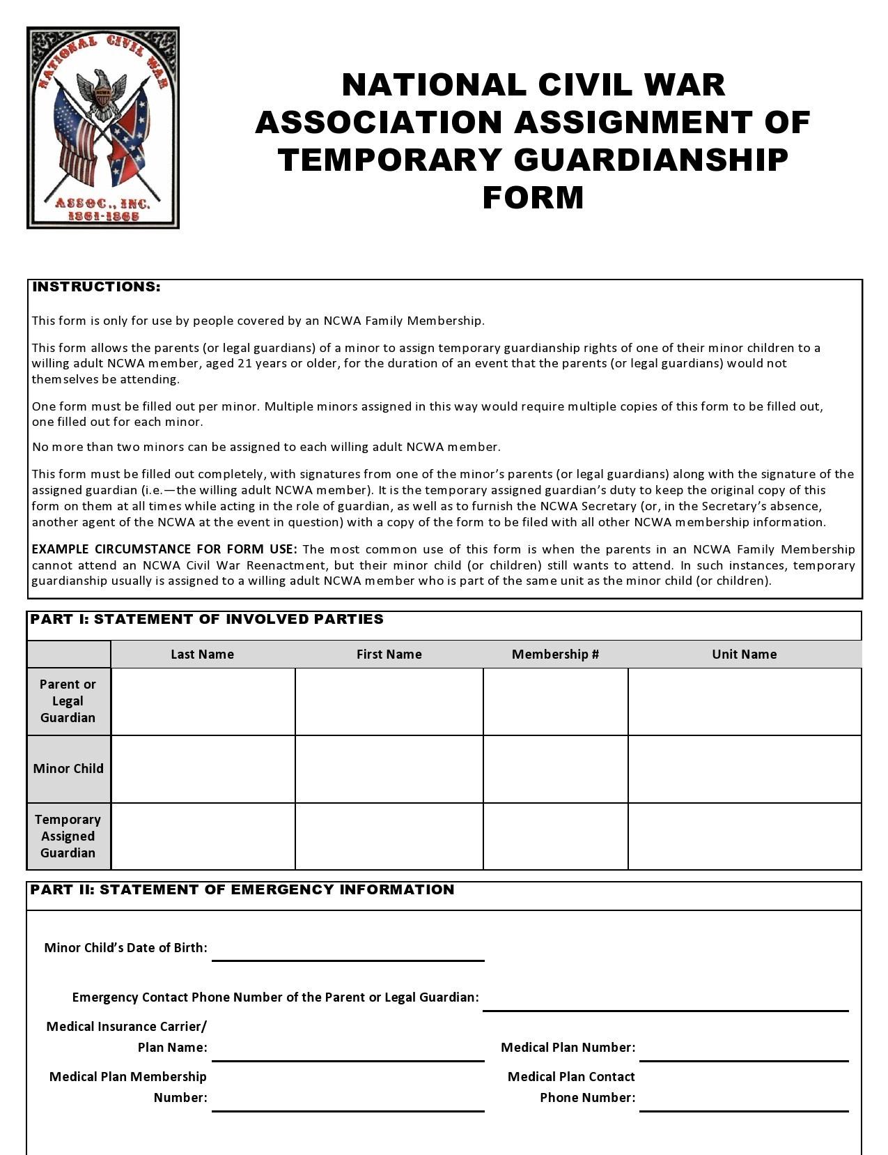 Free guardianship form 15
