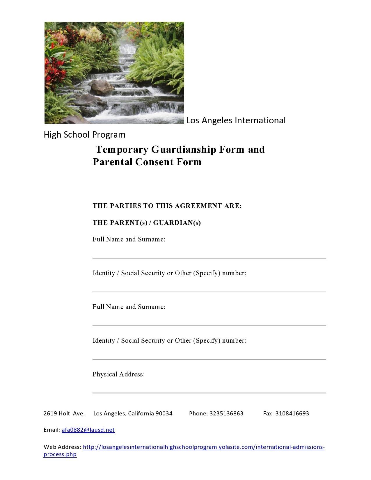 Free guardianship form 18