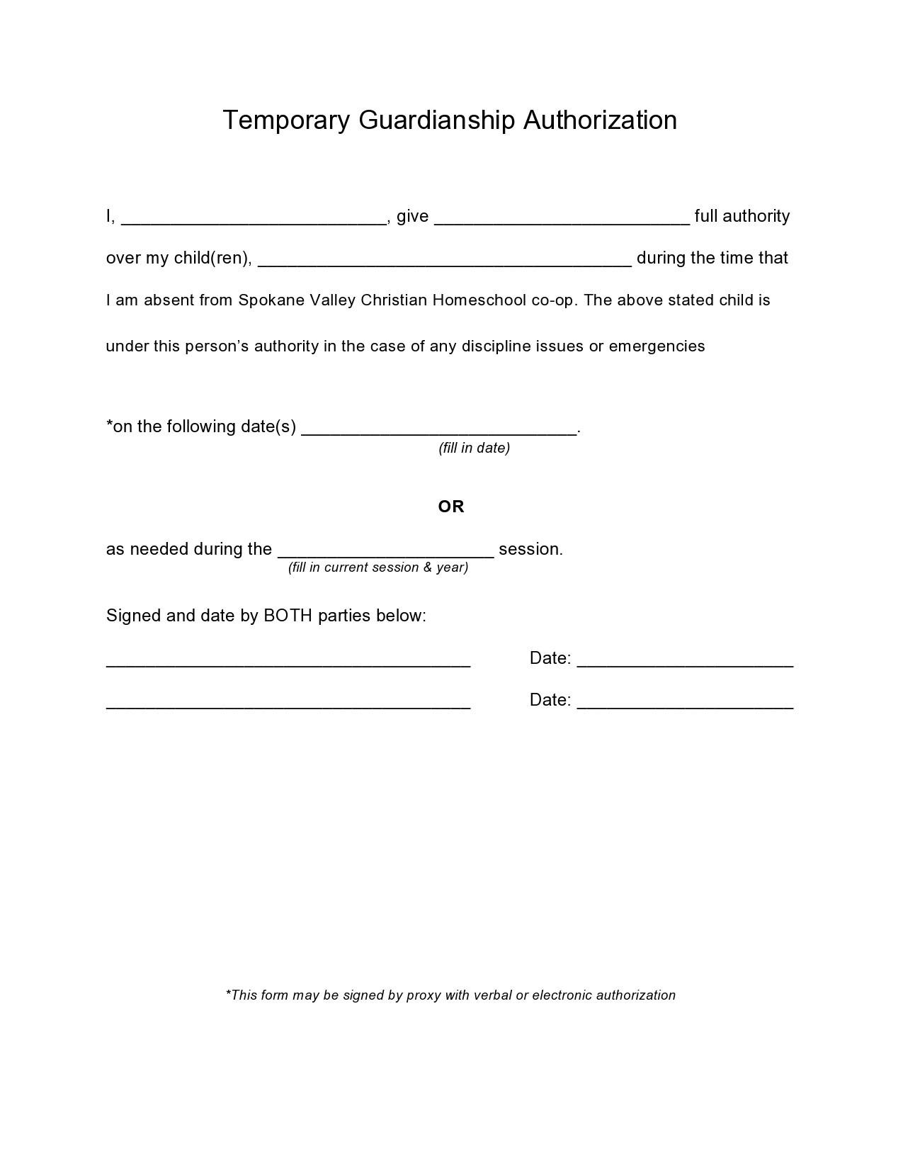Free guardianship form 21