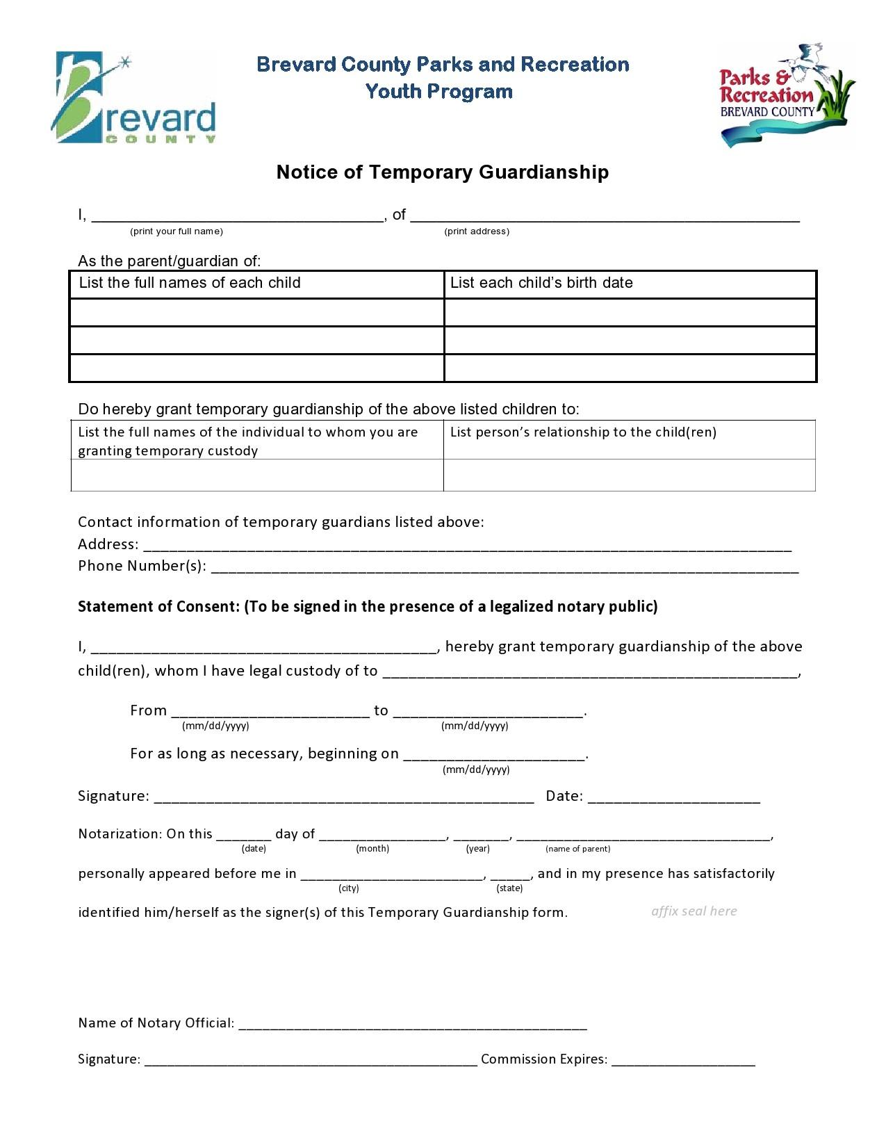 Free guardianship form 22