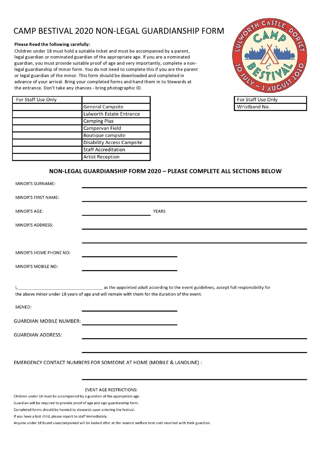 Free guardianship form 31