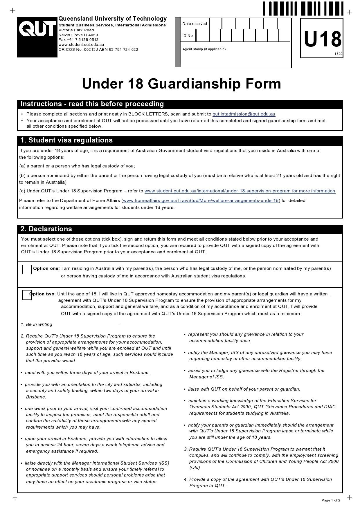 Free guardianship form 33