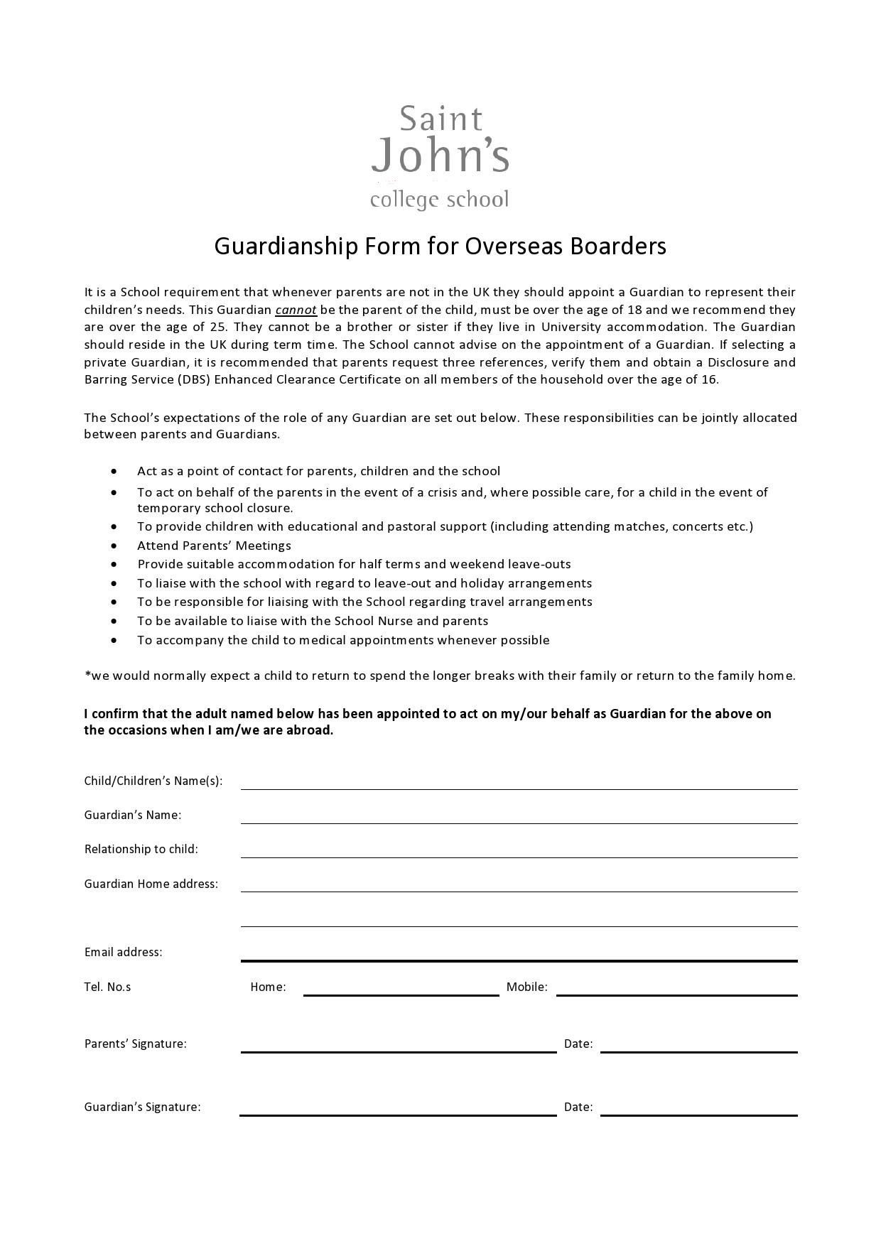 Free guardianship form 35