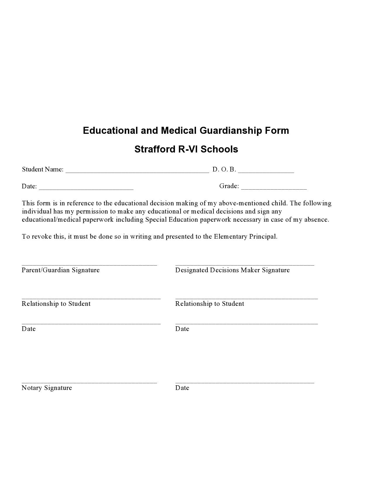Free guardianship form 36