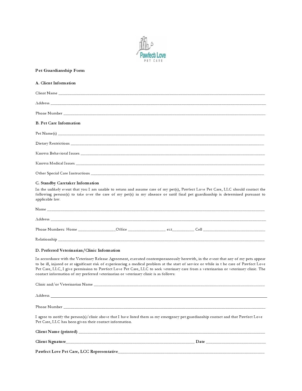 Free guardianship form 39