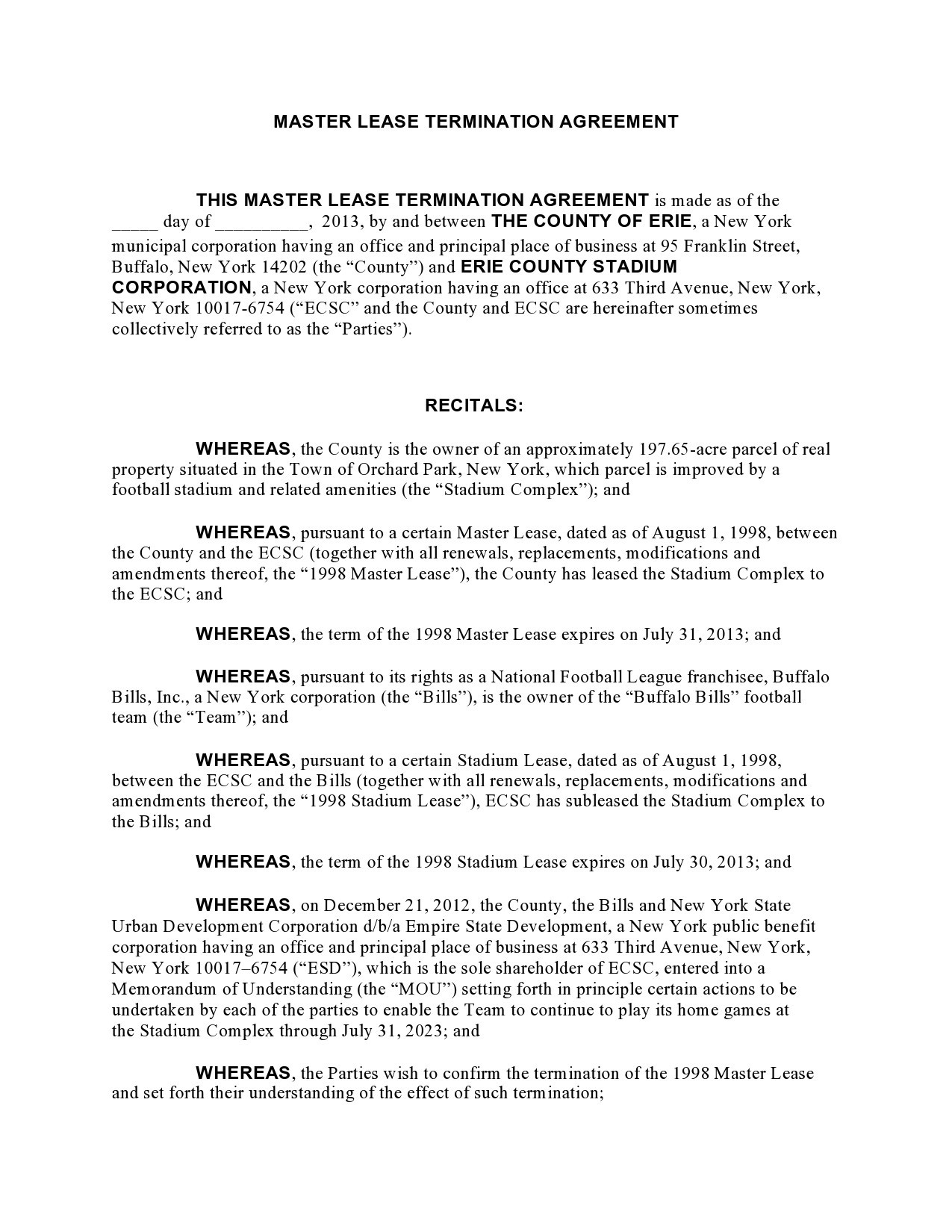 Free lease termination agreement 27