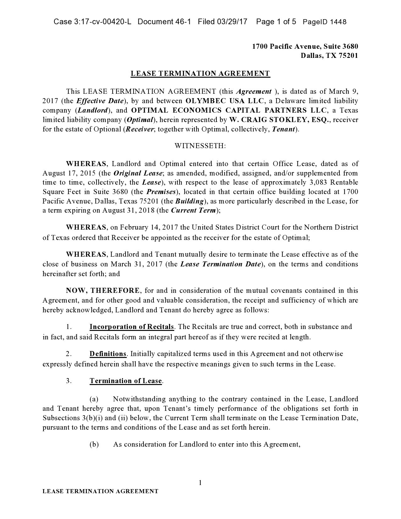 Free lease termination agreement 44