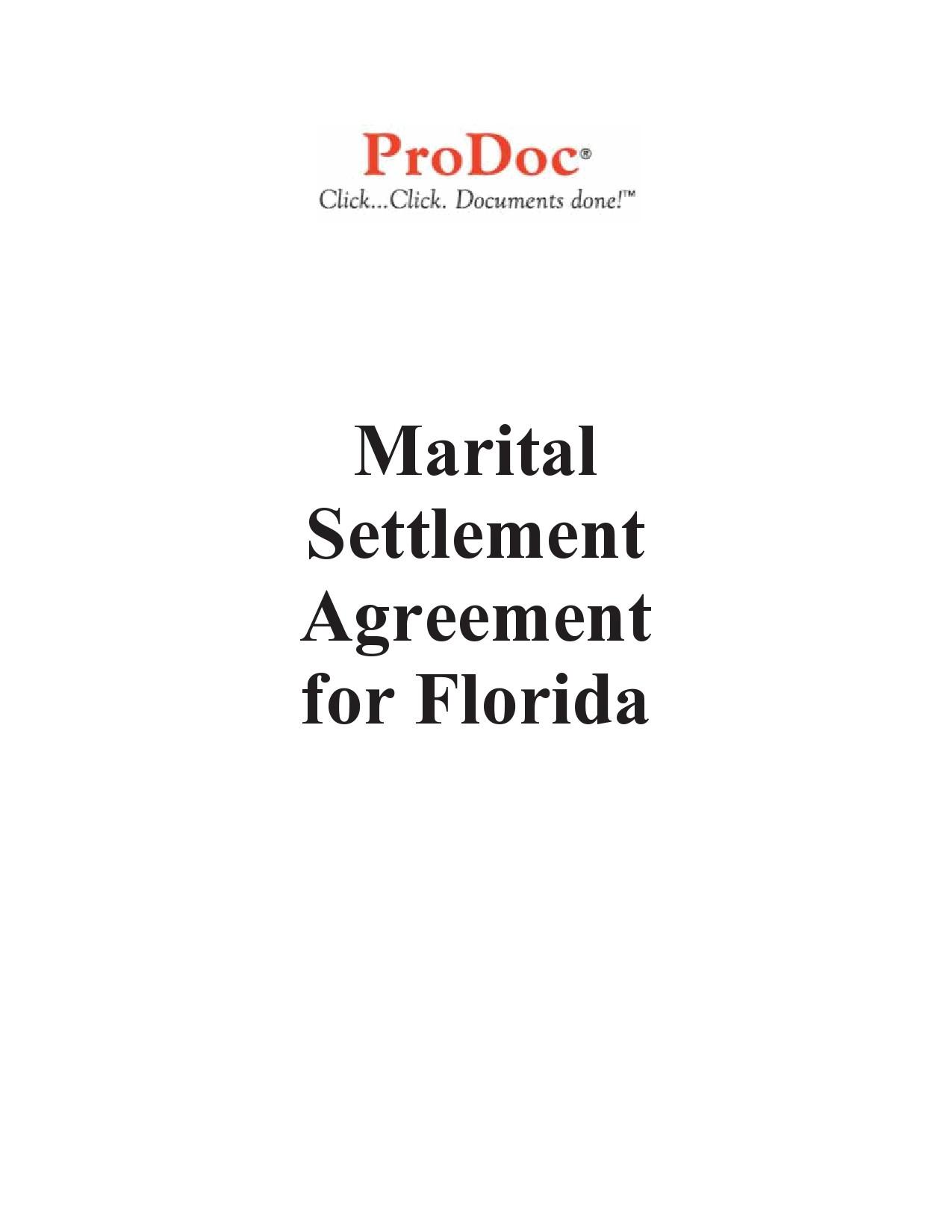 Free marital settlement agreement 19