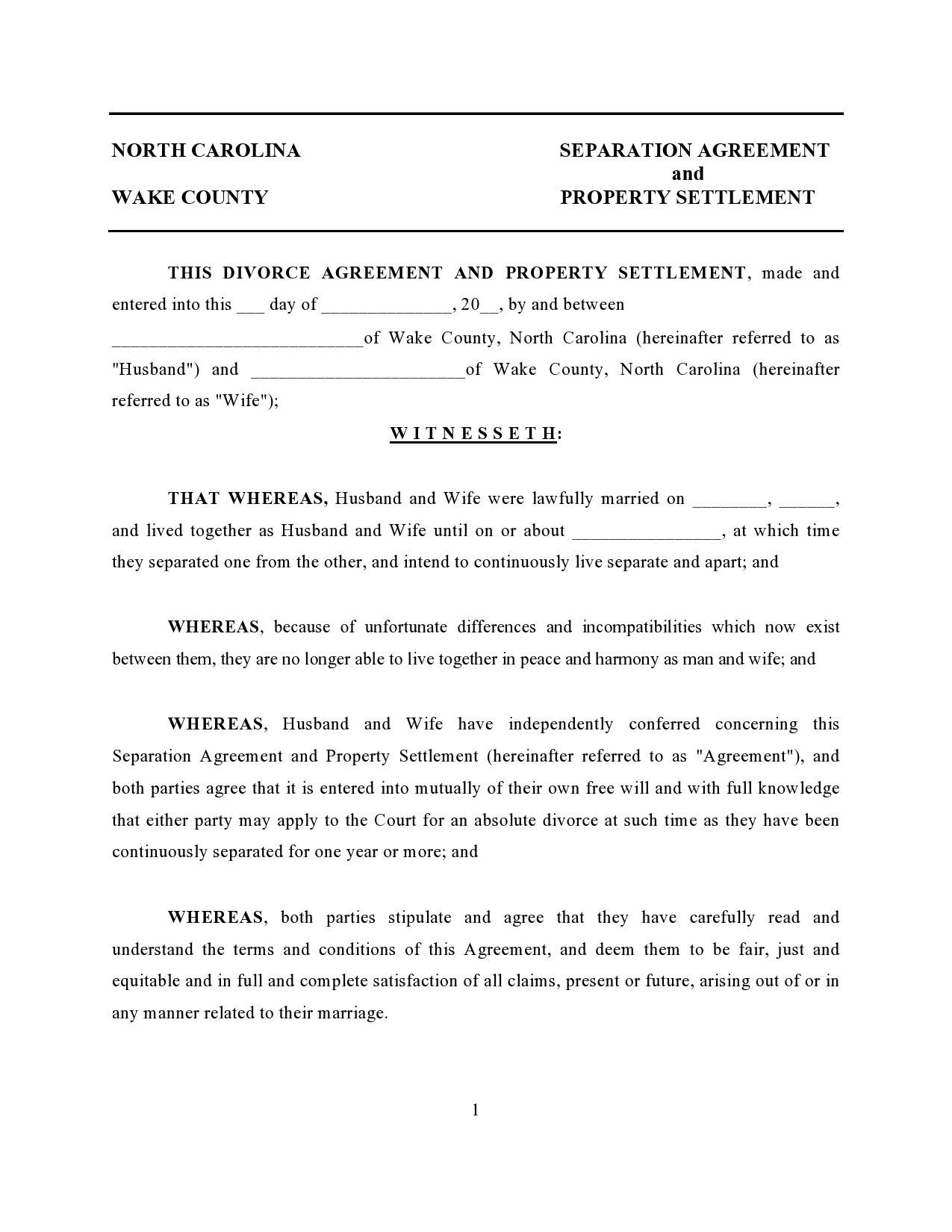 Free marital settlement agreement 46