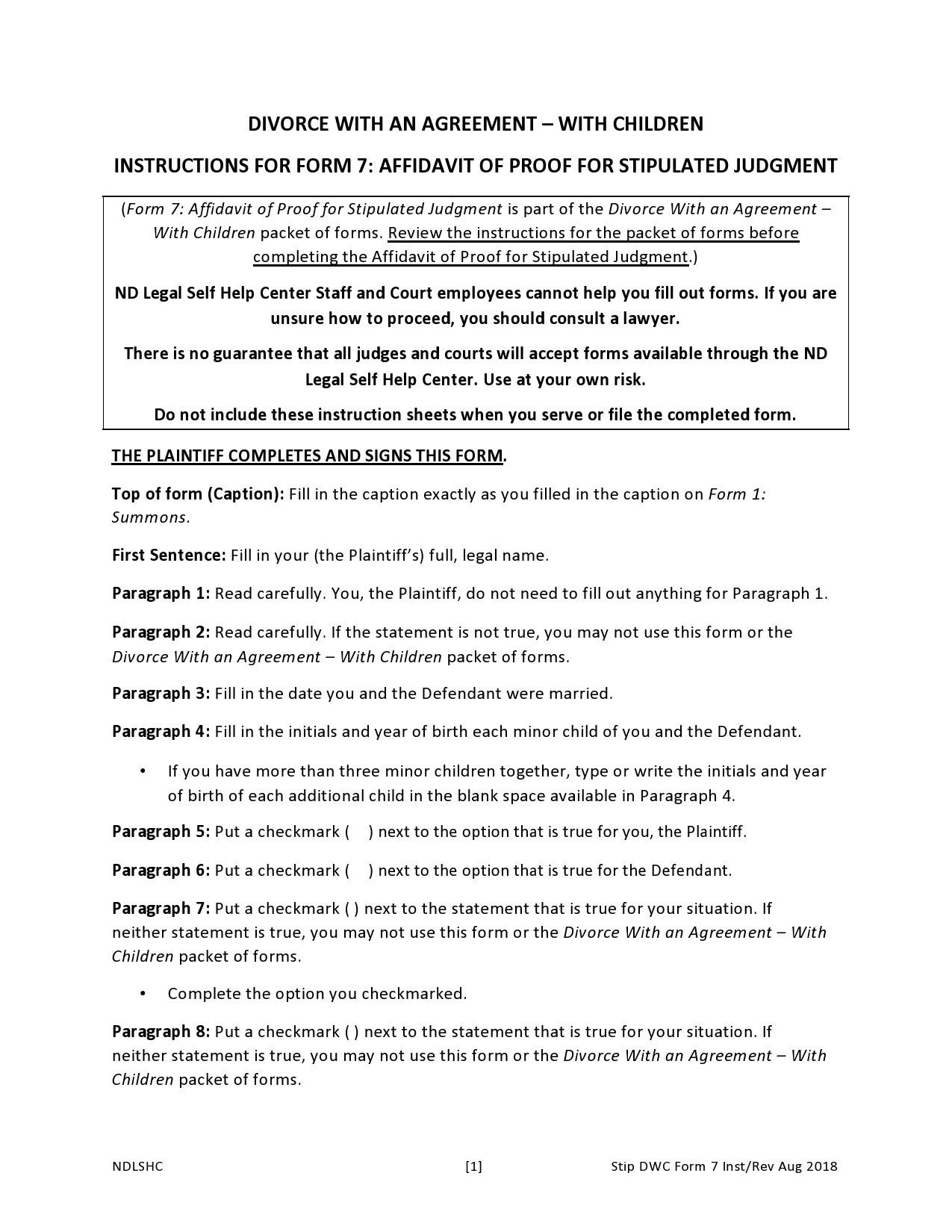 Free marital settlement agreement 48