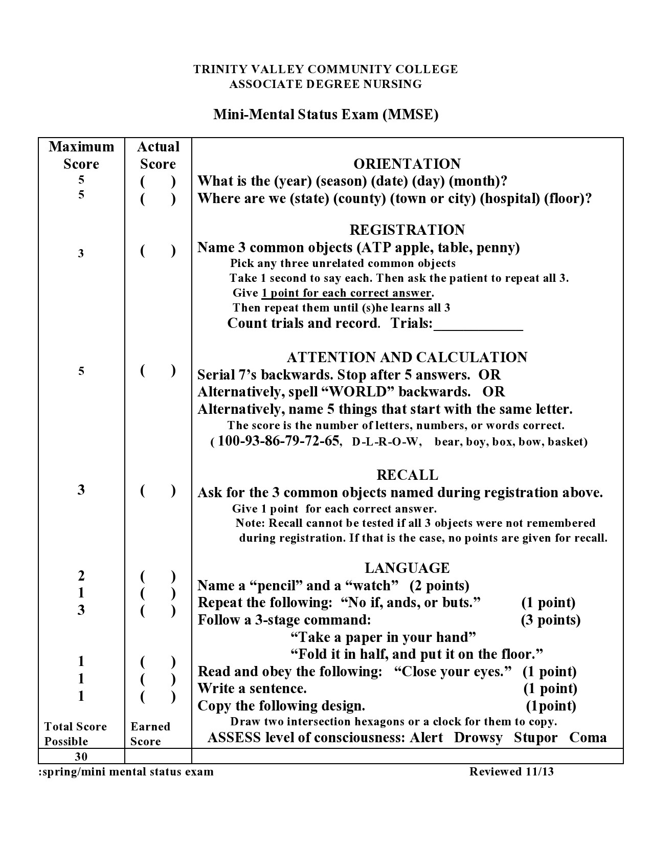 47 Free Mental Status Exam Templates (MSE Examples) ᐅ ...