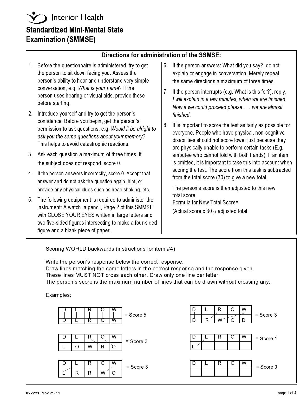 Free mental status exam template 19