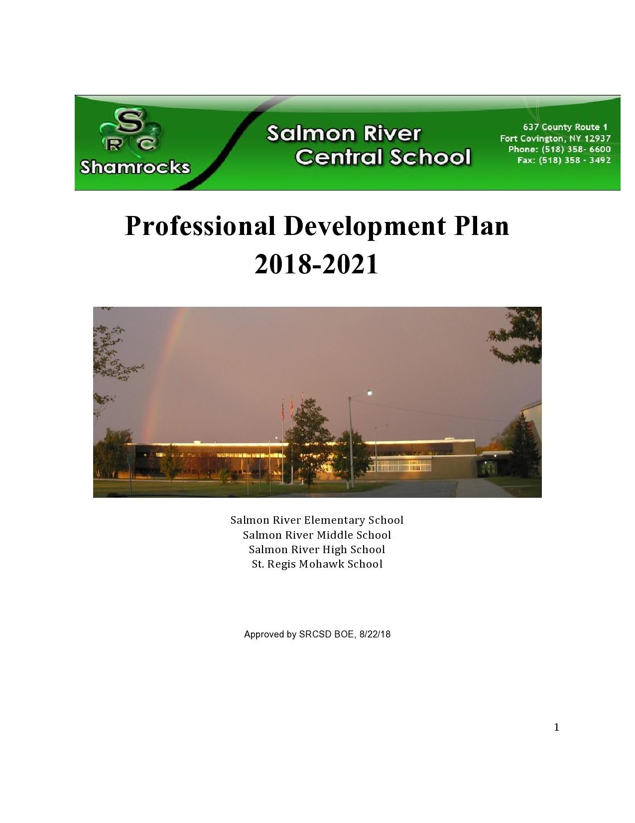 Free professional development plan 37