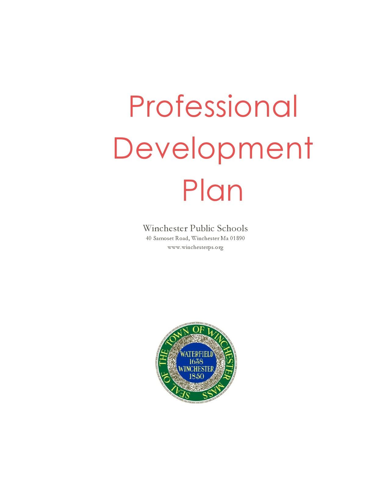 Free professional development plan 39