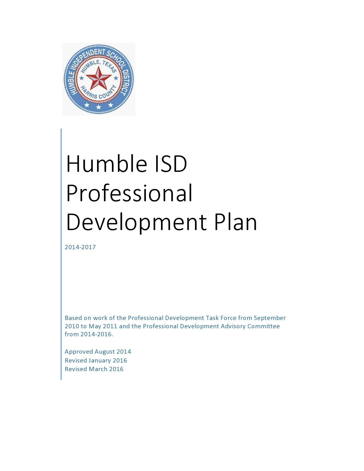 Free professional development plan 44