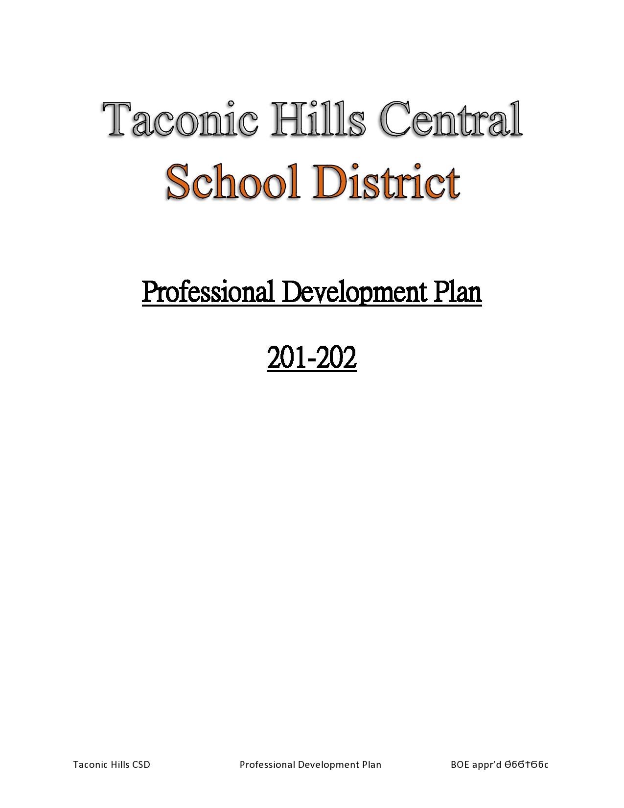 Free professional development plan 48