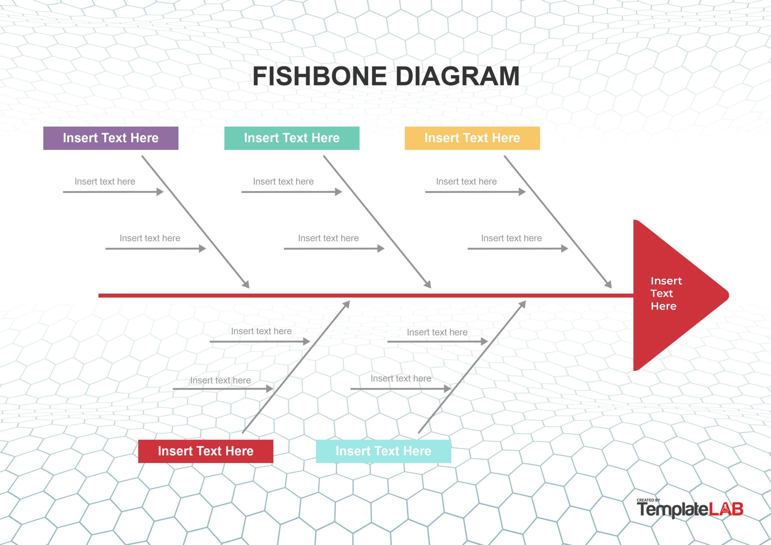 Free Fishbone Diagram Template 04 - TemplateLab.com
