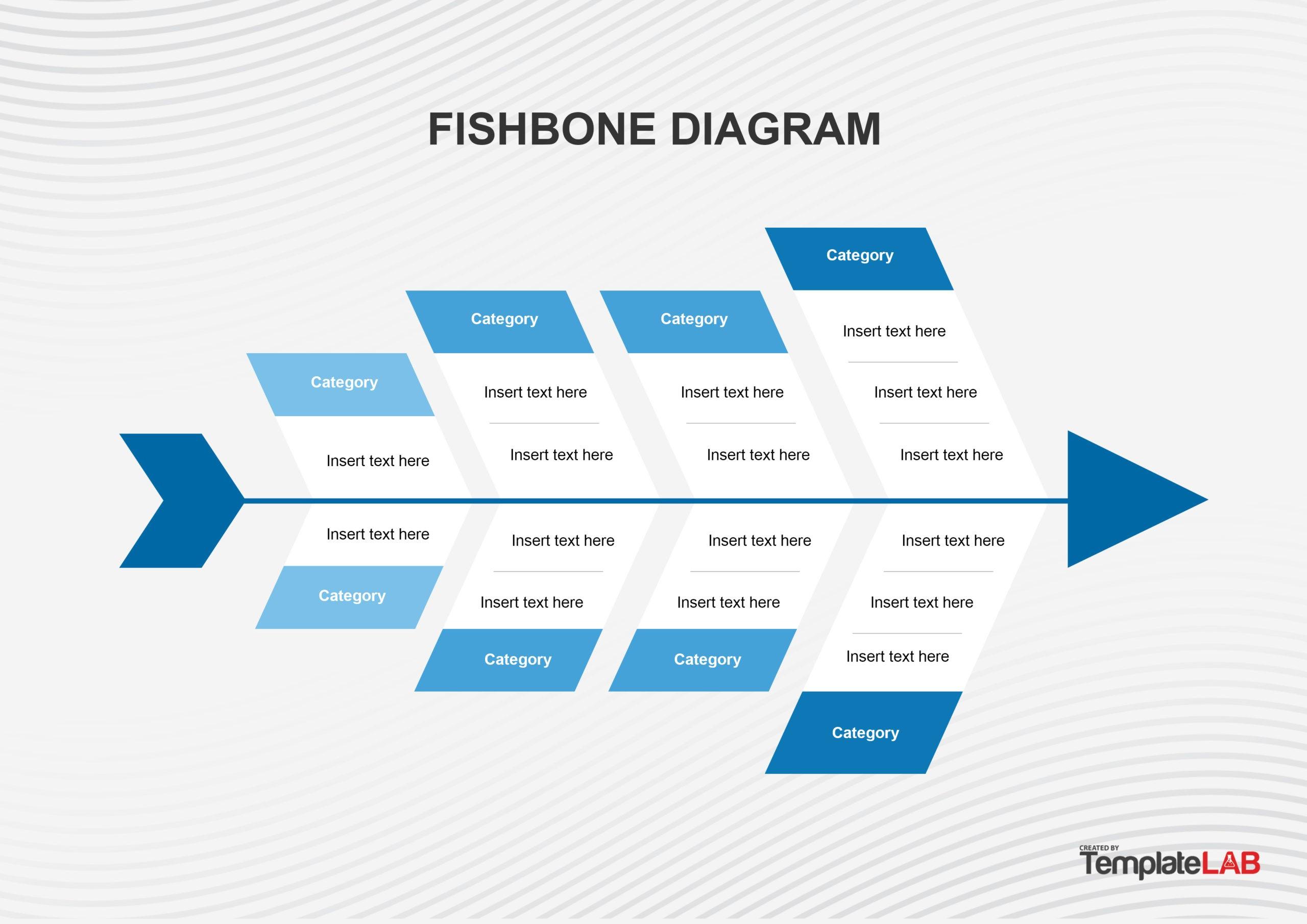 Free Fishbone Diagram Template 08 - TemplateLab.com