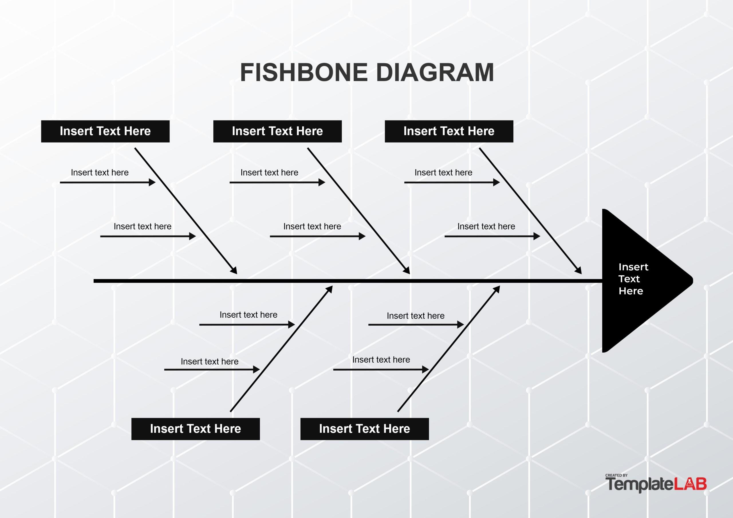 Free Fishbone Diagram Template 12 - TemplateLab.com