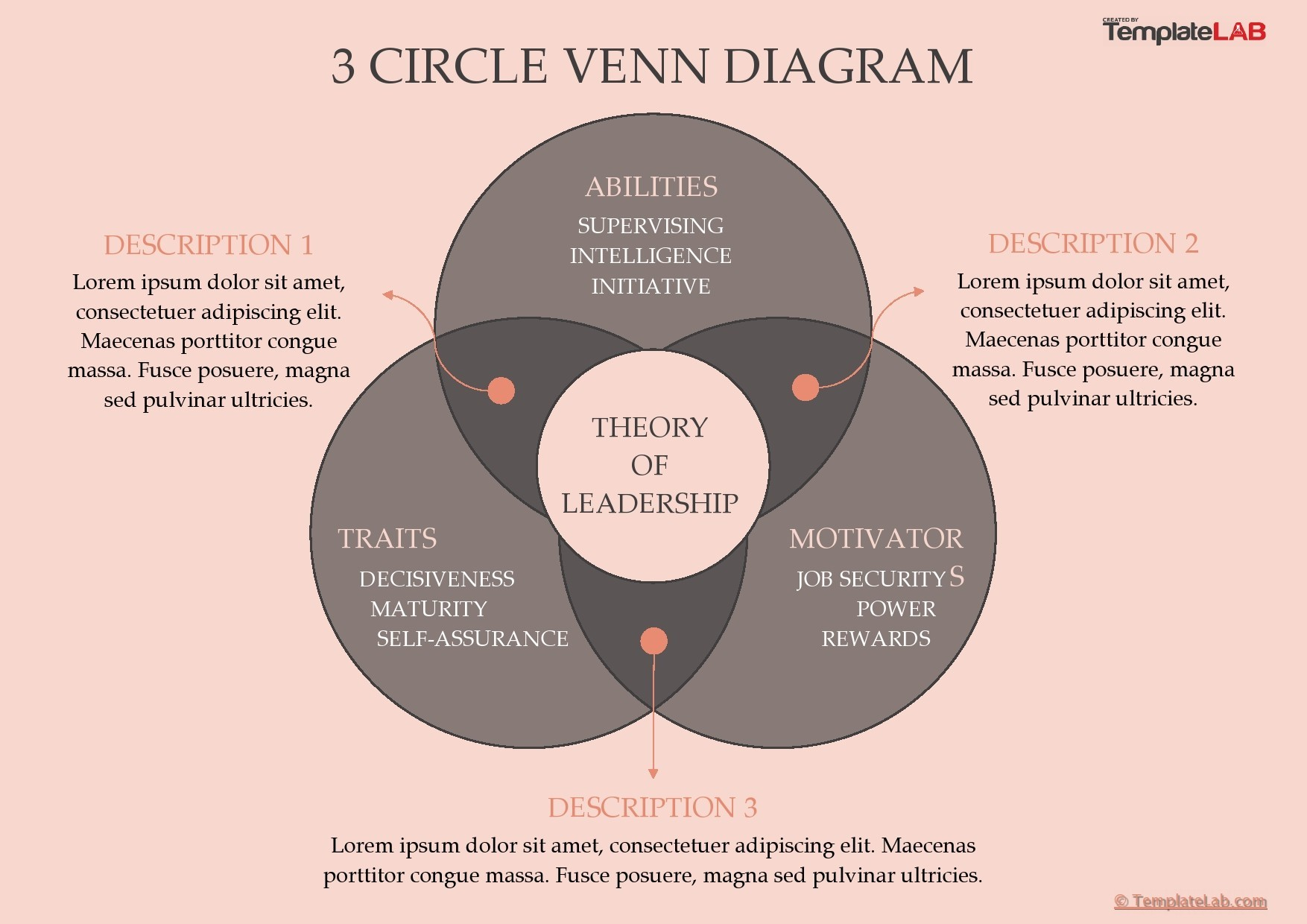 Free 3 Circle Venn Diagram Template 03 - TemplateLab.com