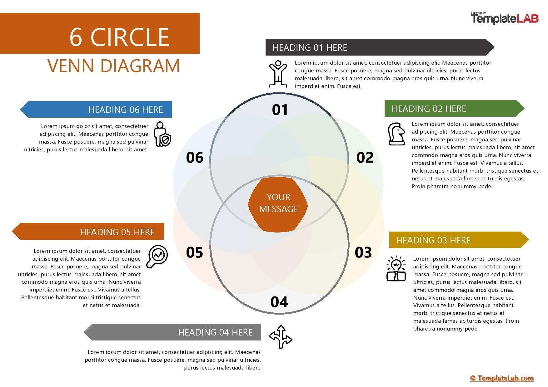 Free 6 Circle Venn Diagram Template - TemplateLab.com