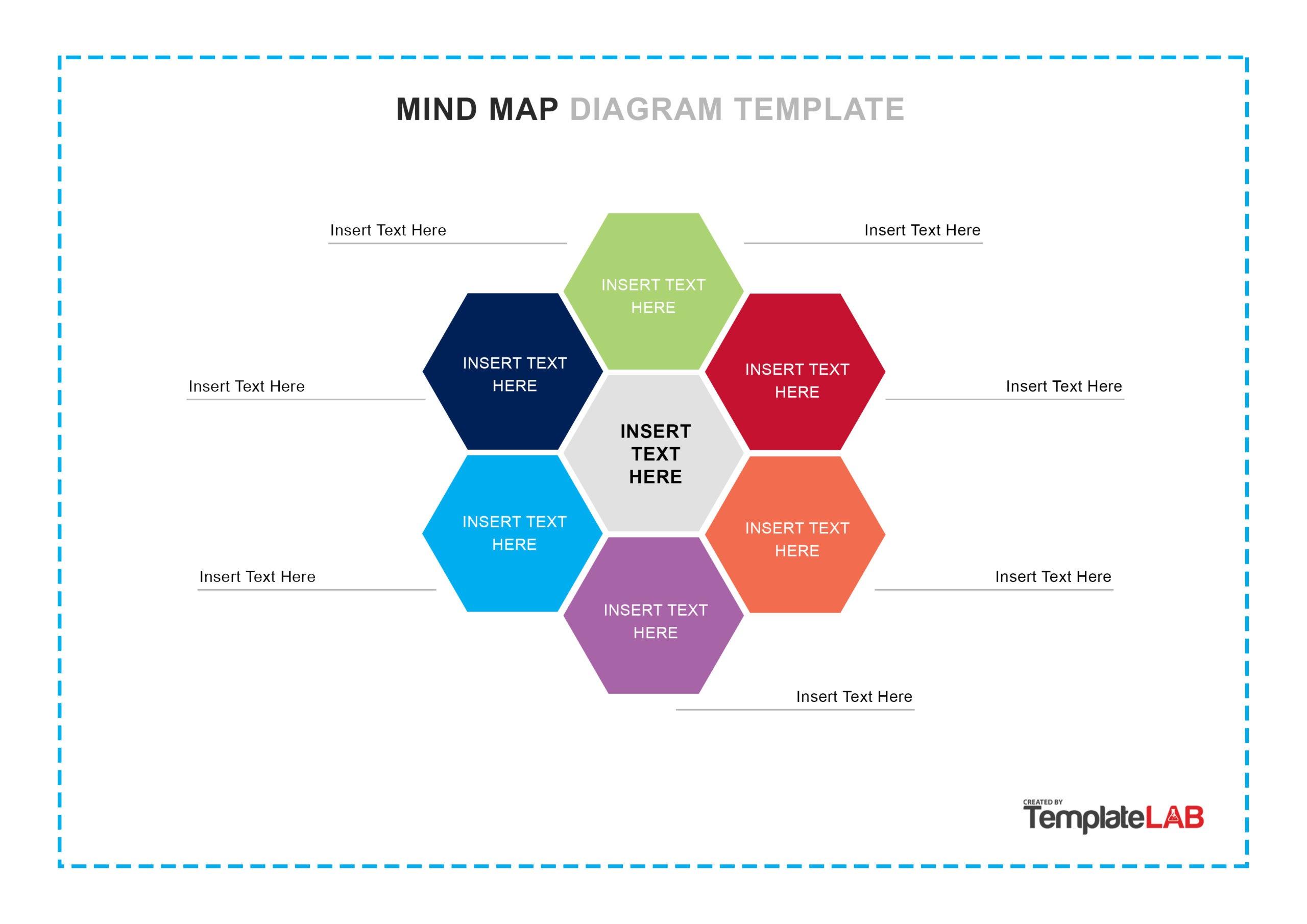Free Mind Map Template 04 - TemplateLab.com