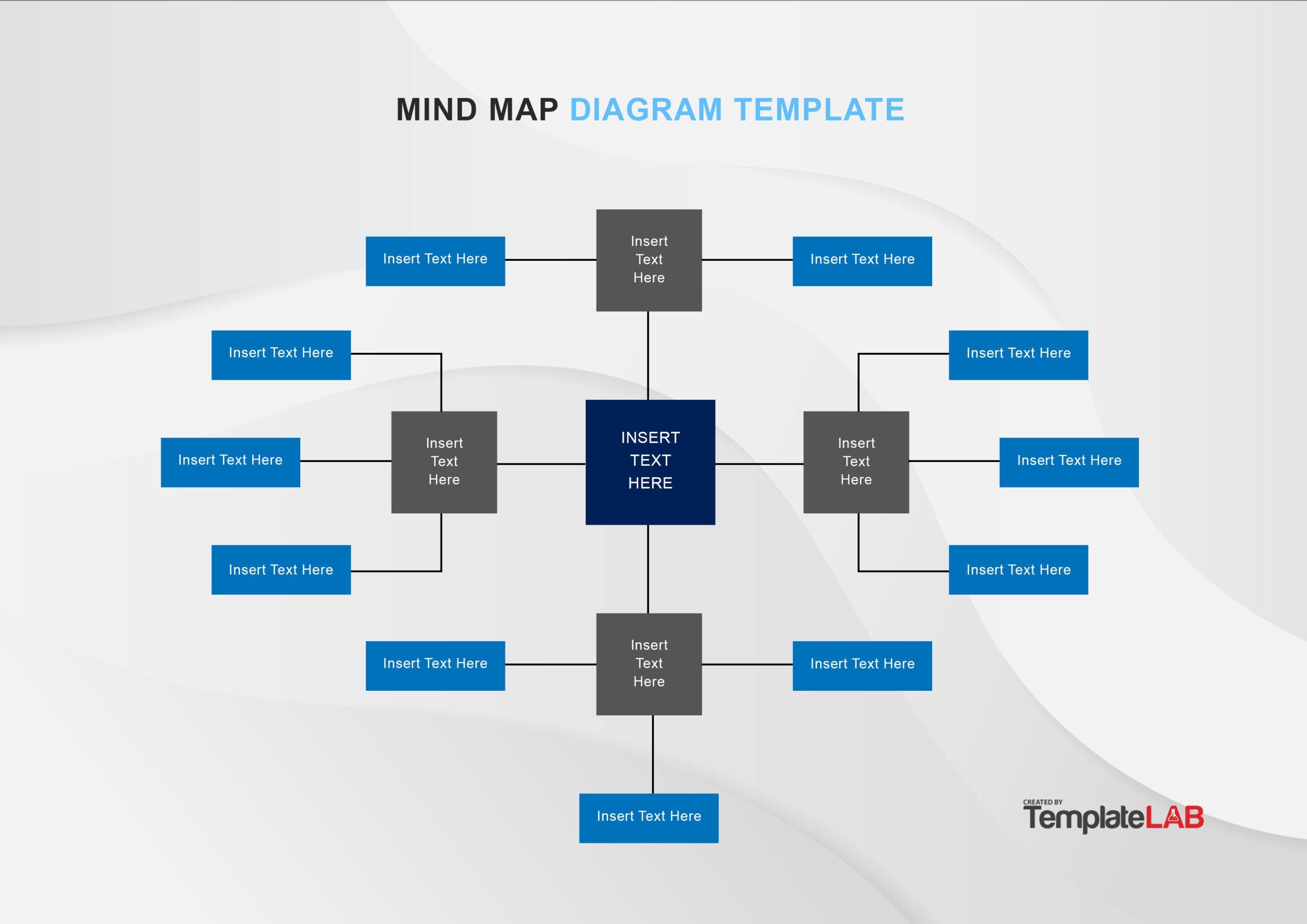 Free Mind Map Template 05 - TemplateLab.com