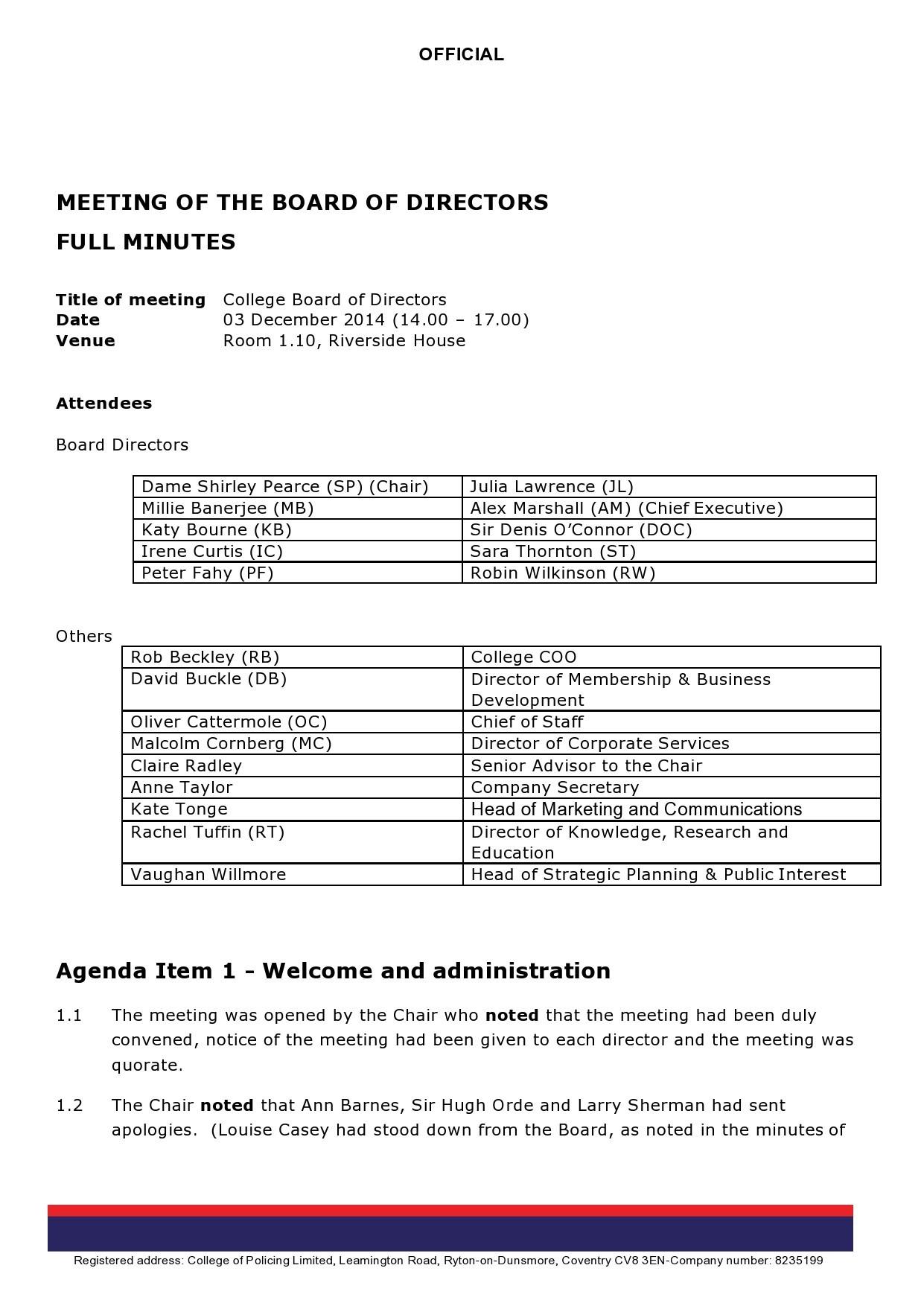 Free board meeting agenda 08