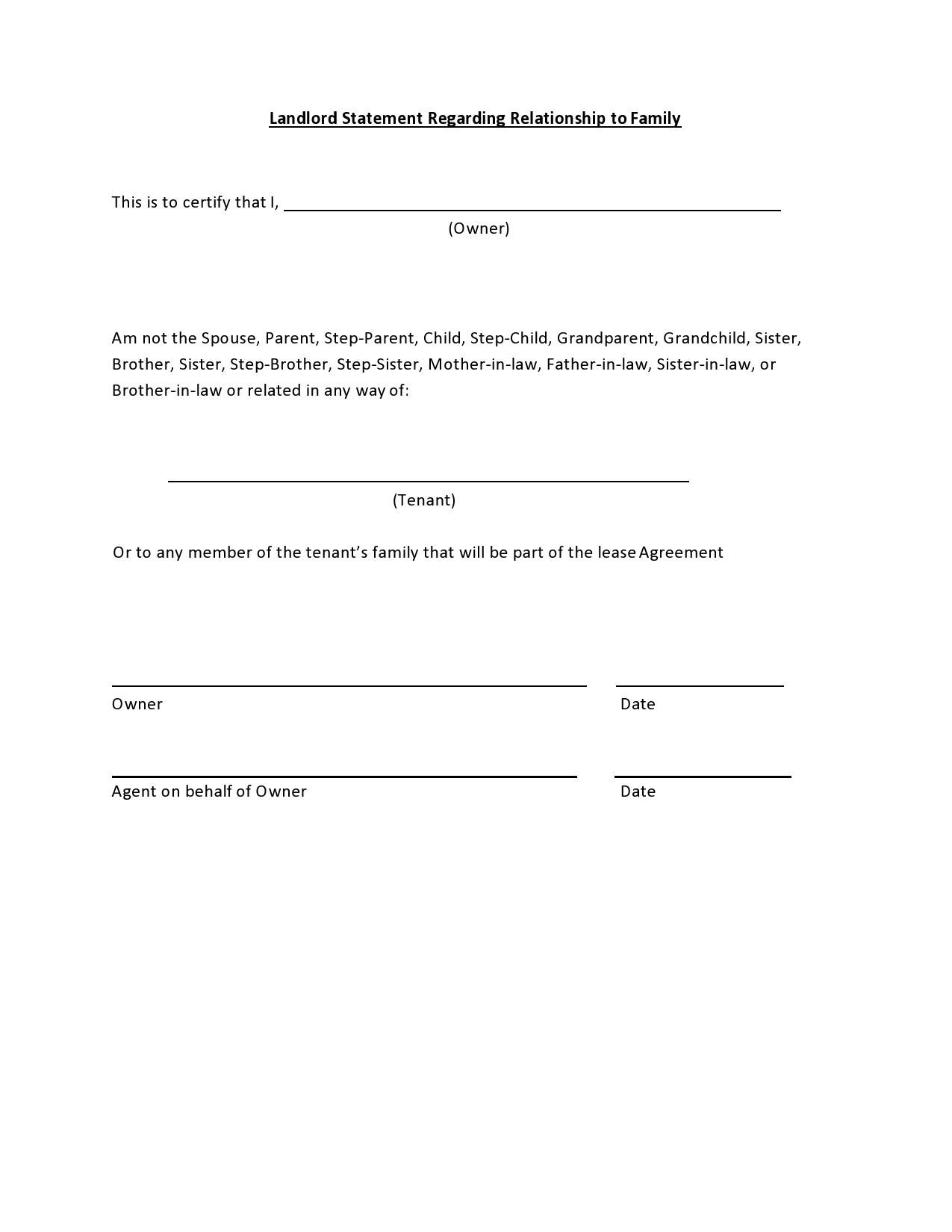 Free landlord statment 15