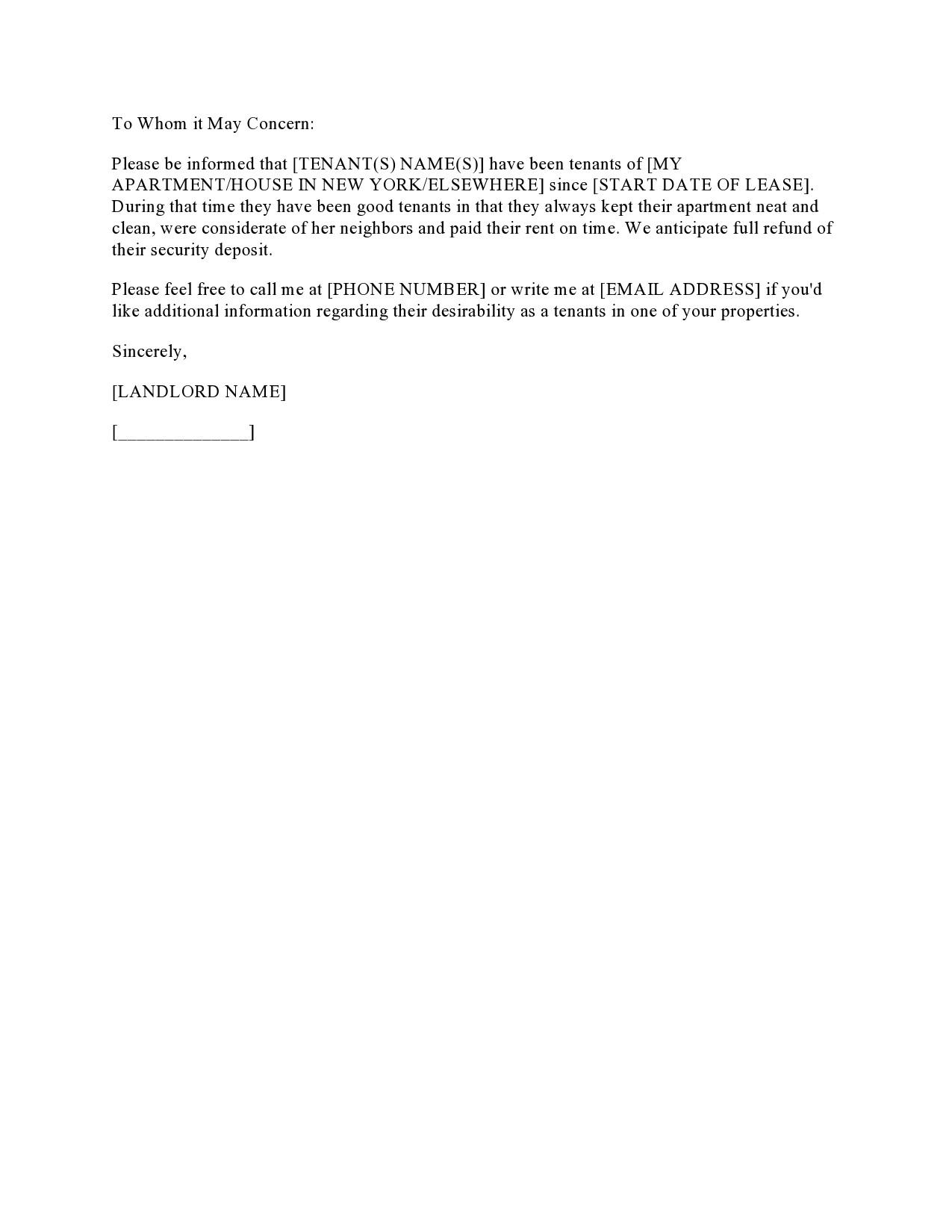 Free landlord statment 23