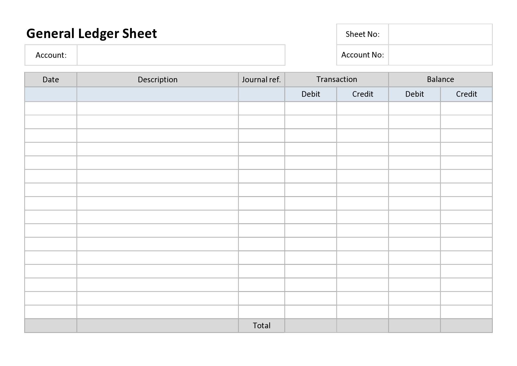 Free general ledger template 04