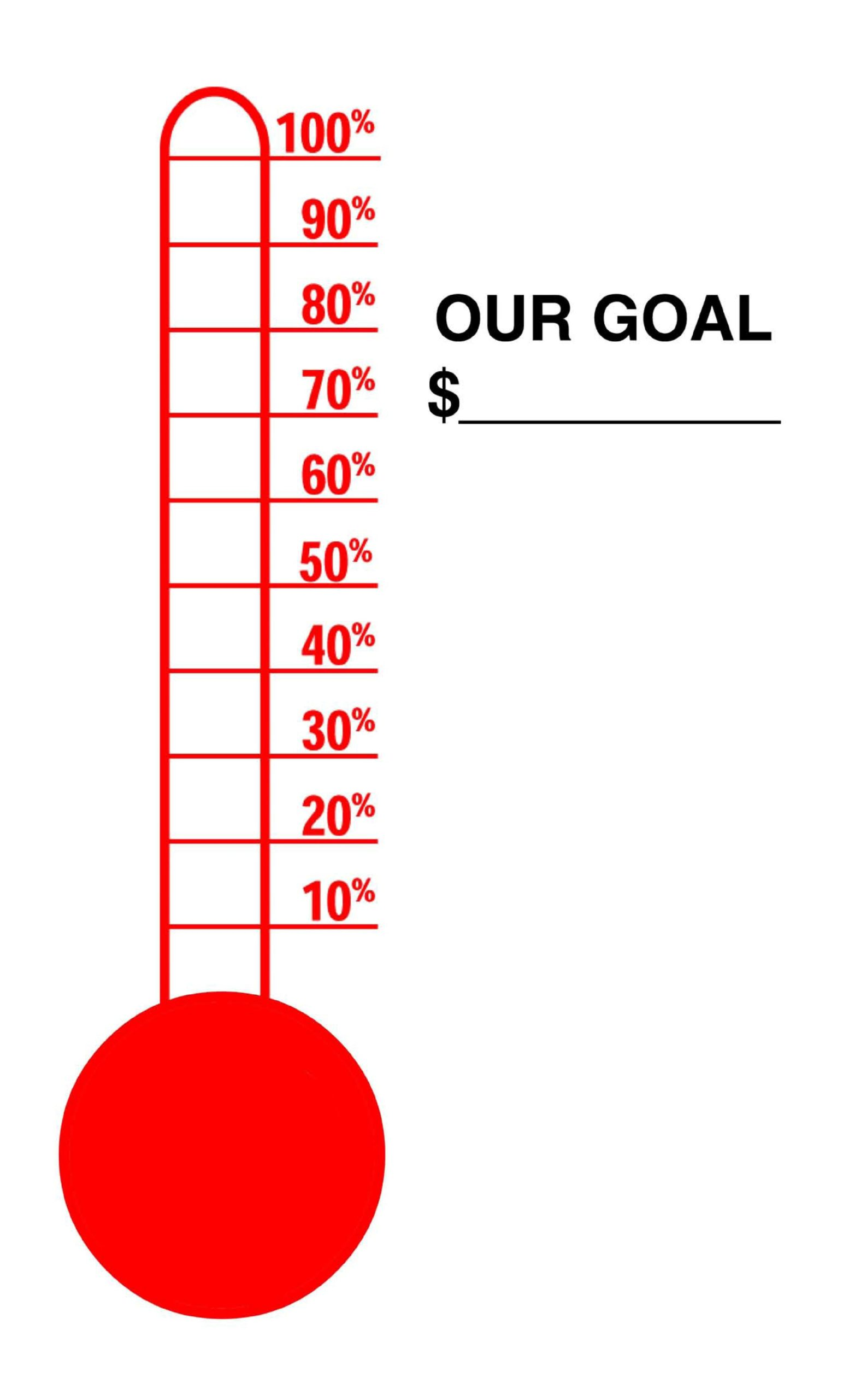 Free goal chart template 15