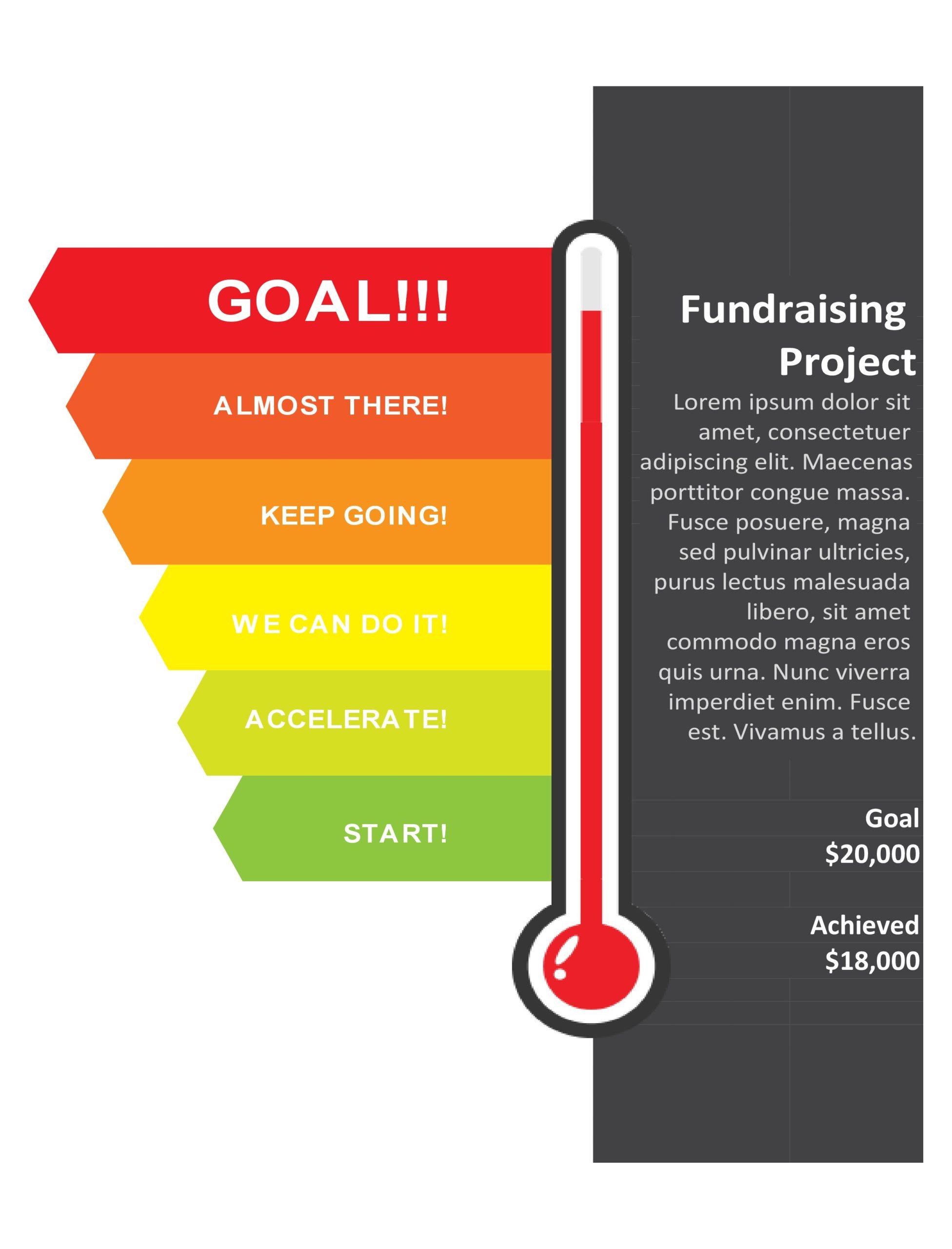 Free goal chart template 18