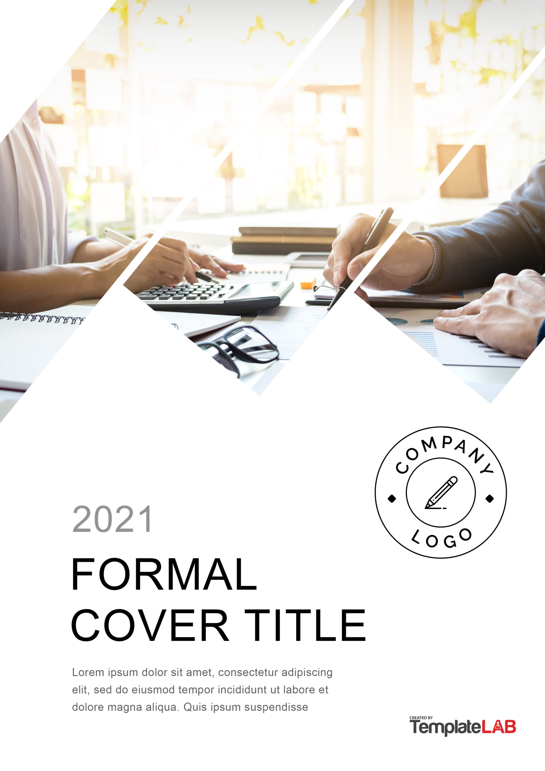 Free Formal Cover Page Template