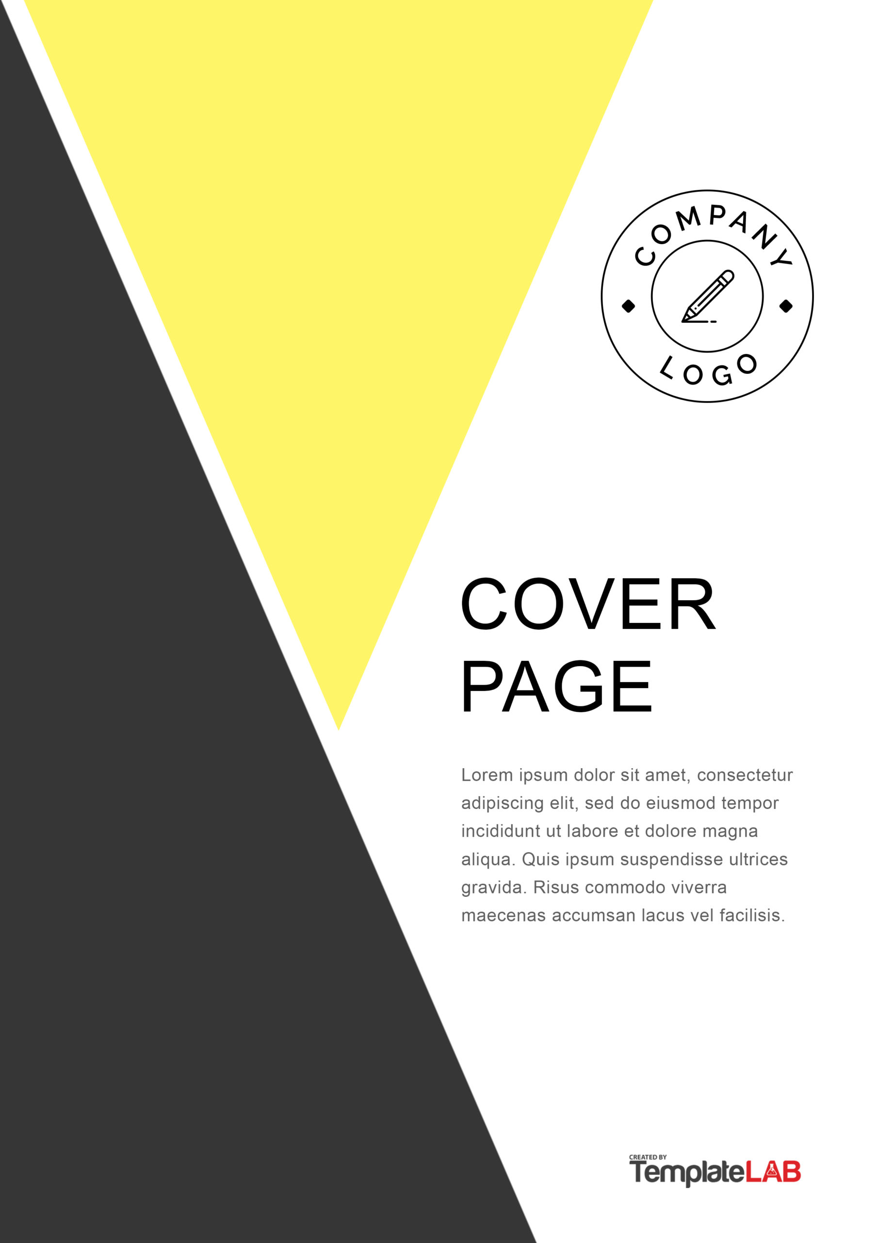 Free Title Page Template - TemplateLab.com