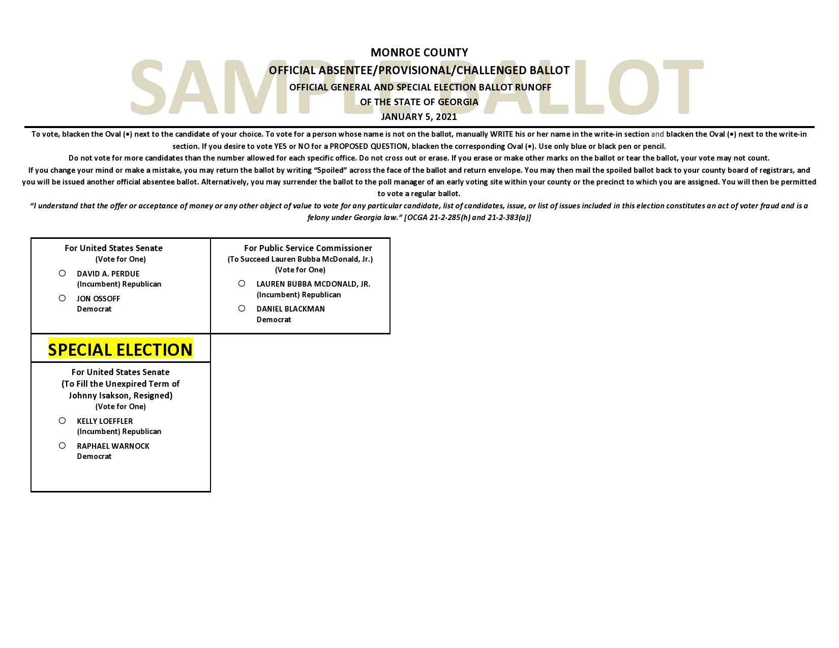 Free ballot template 26