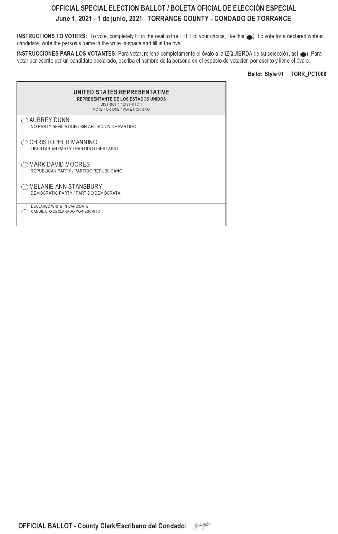 Free ballot template 32