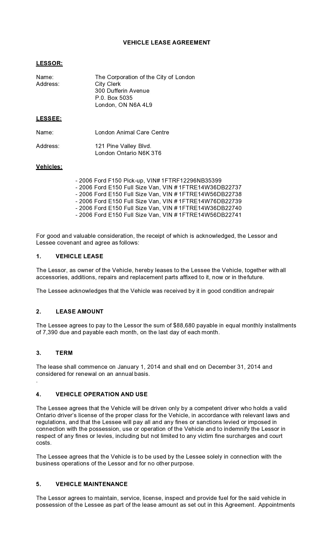 Free car rental agreement 27