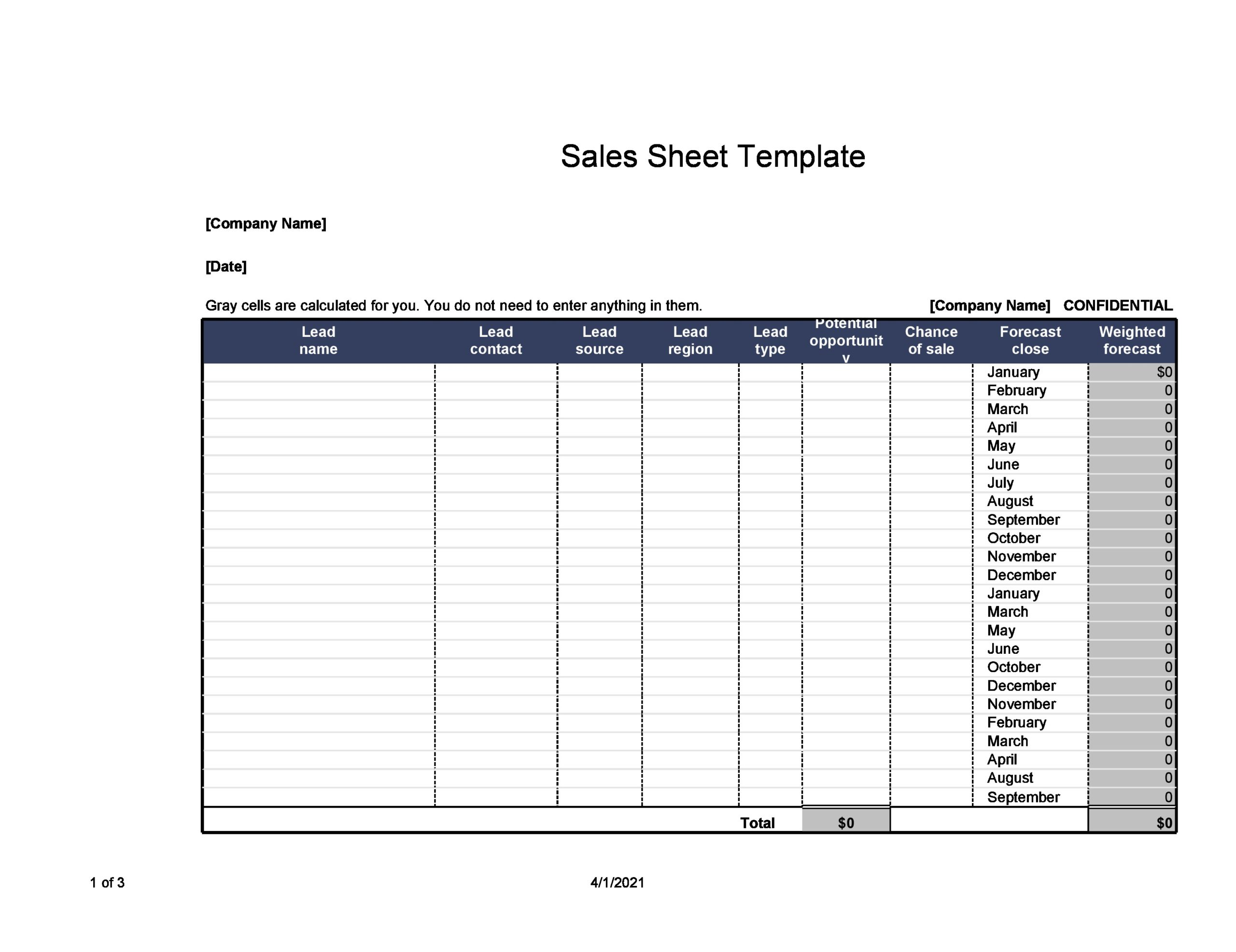 Free sell sheet template 04