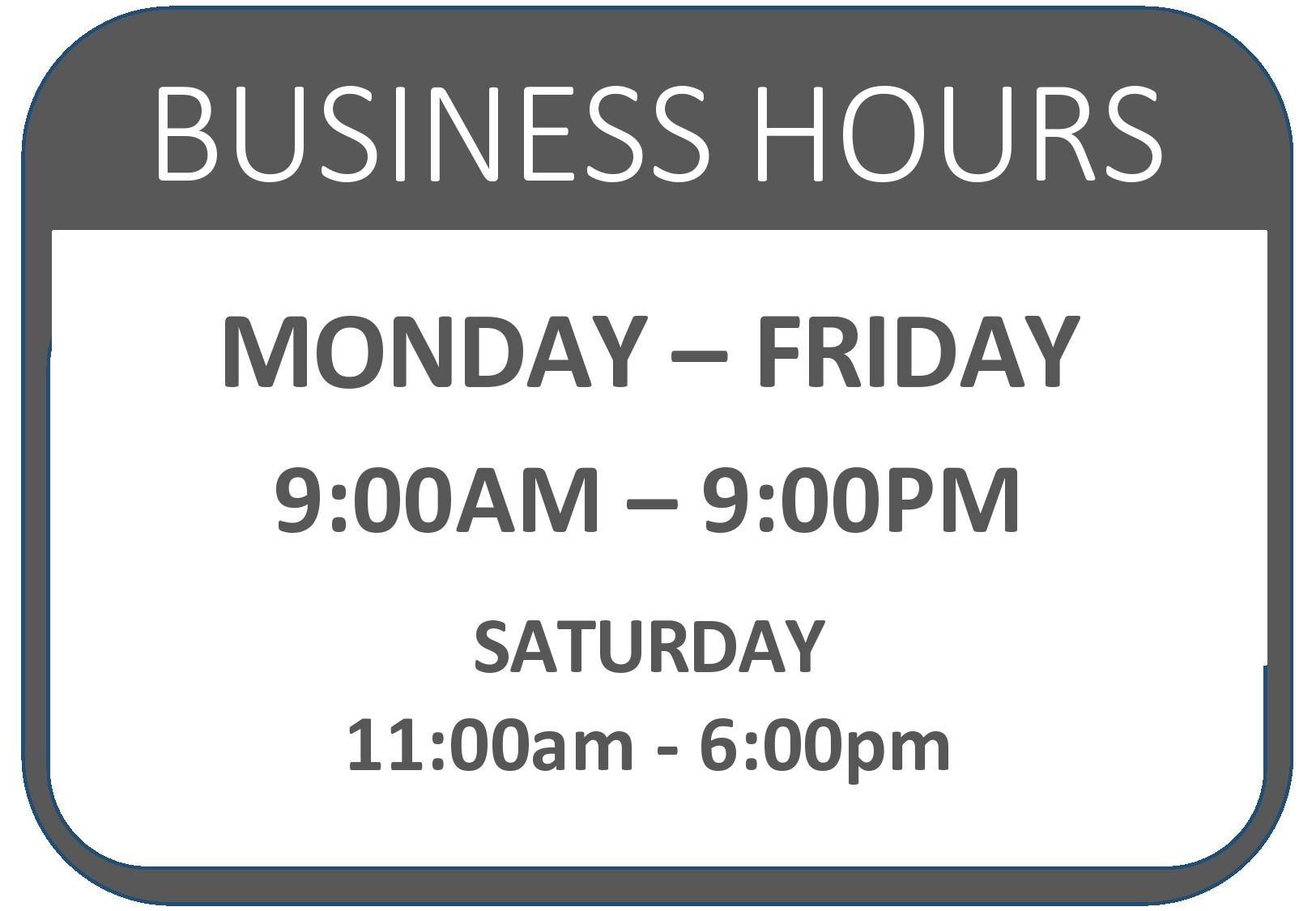 Free business hours template 03