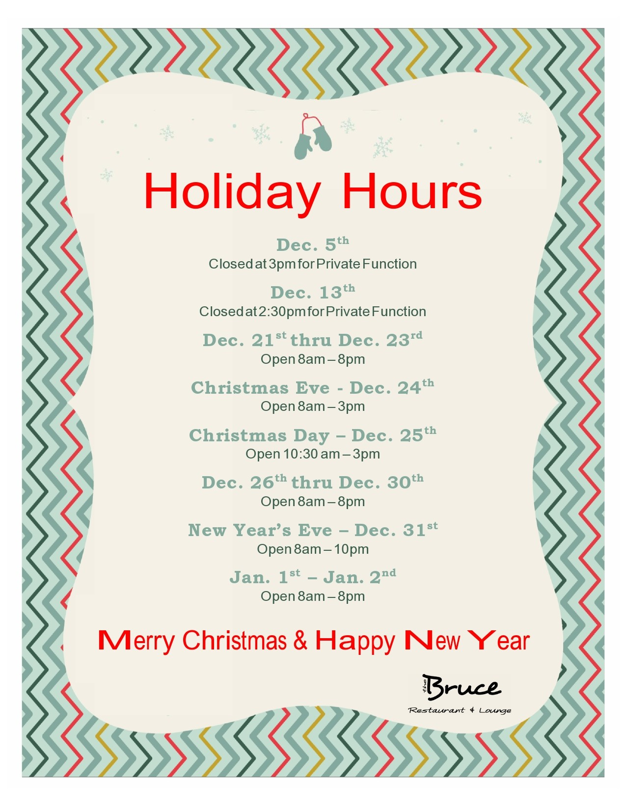 Free business hours template 15