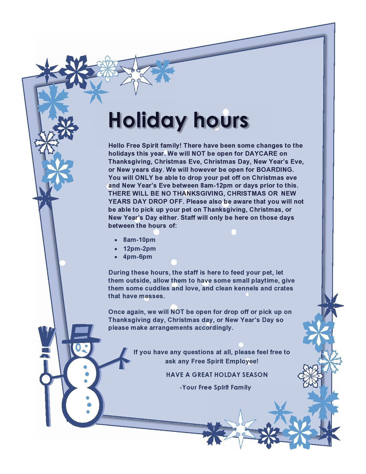 Free business hours template 28