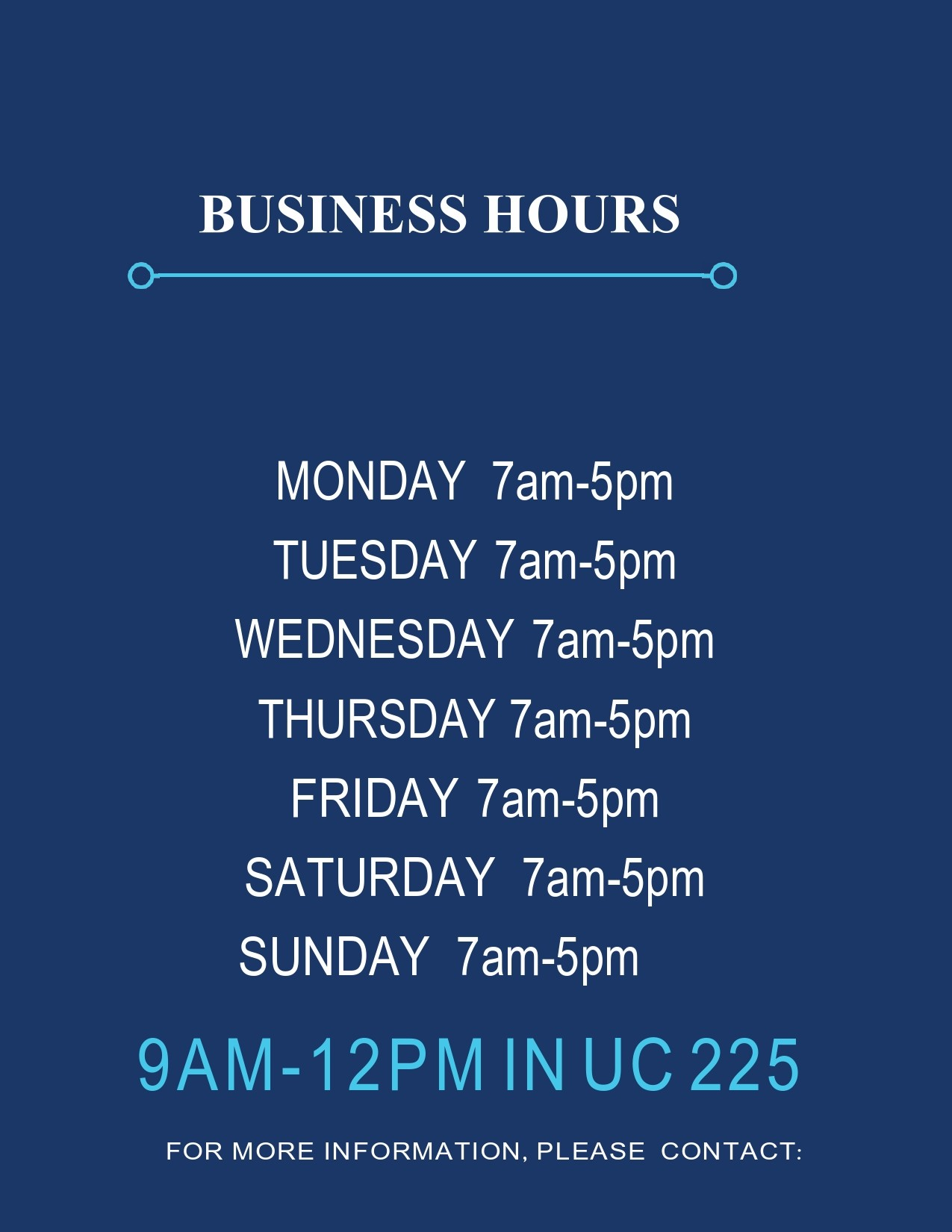 Free business hours template 29