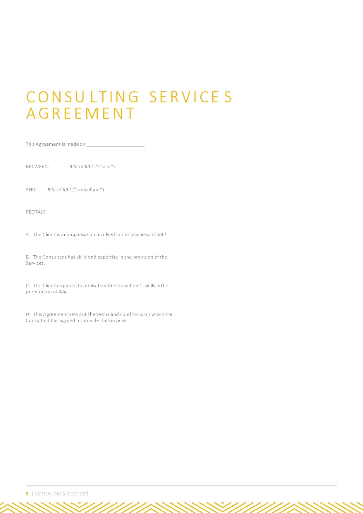 Free consulting contract template 25